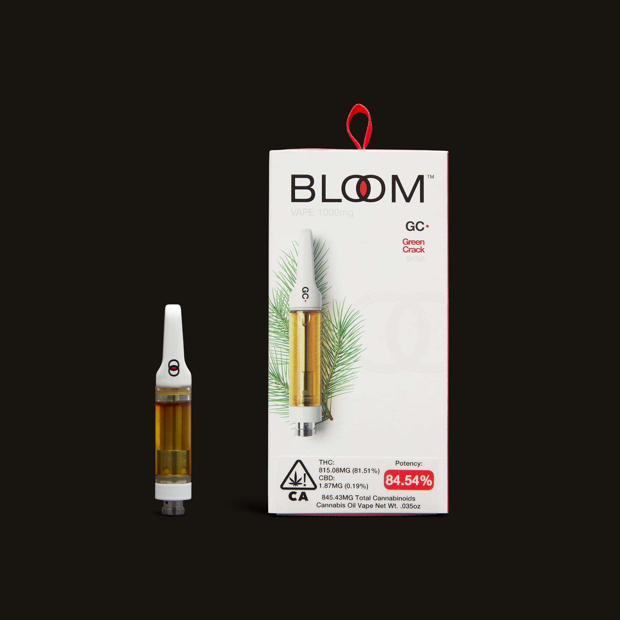 Green Crack Cartridge - 1g by Bloom Brands
