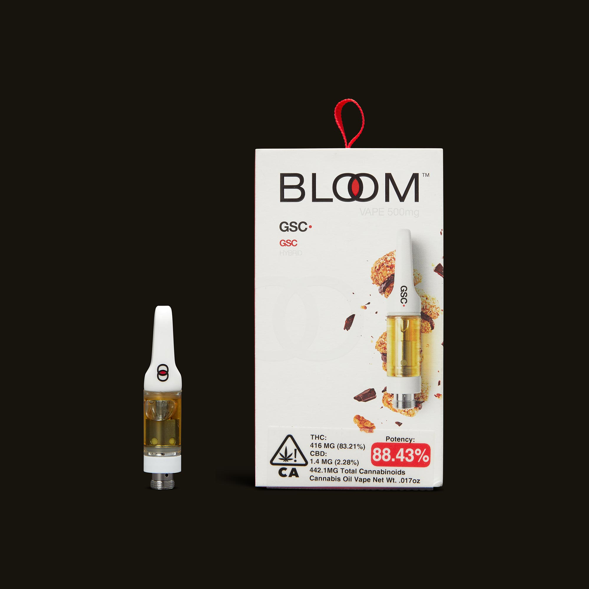 GSC Cartridge - .5g by Bloom Brands