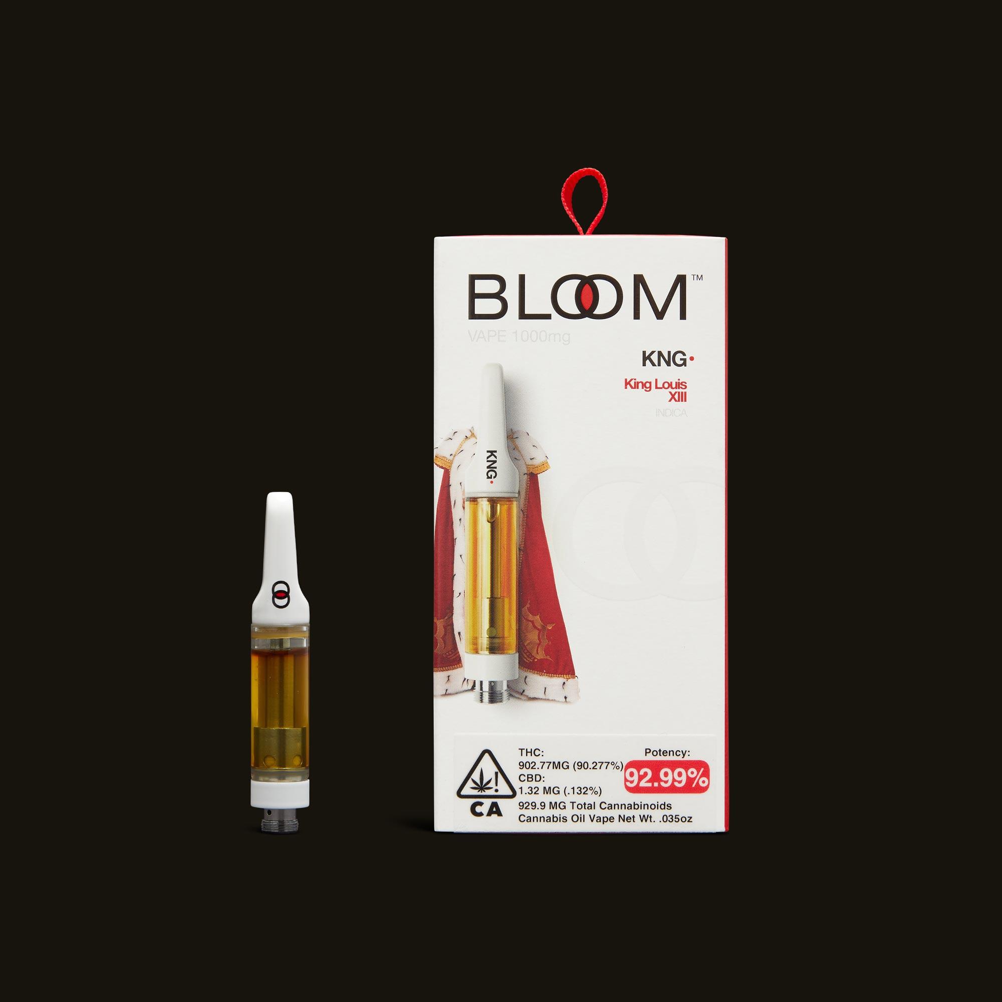 King Louis Cartridge - .5g by Bloom Brands