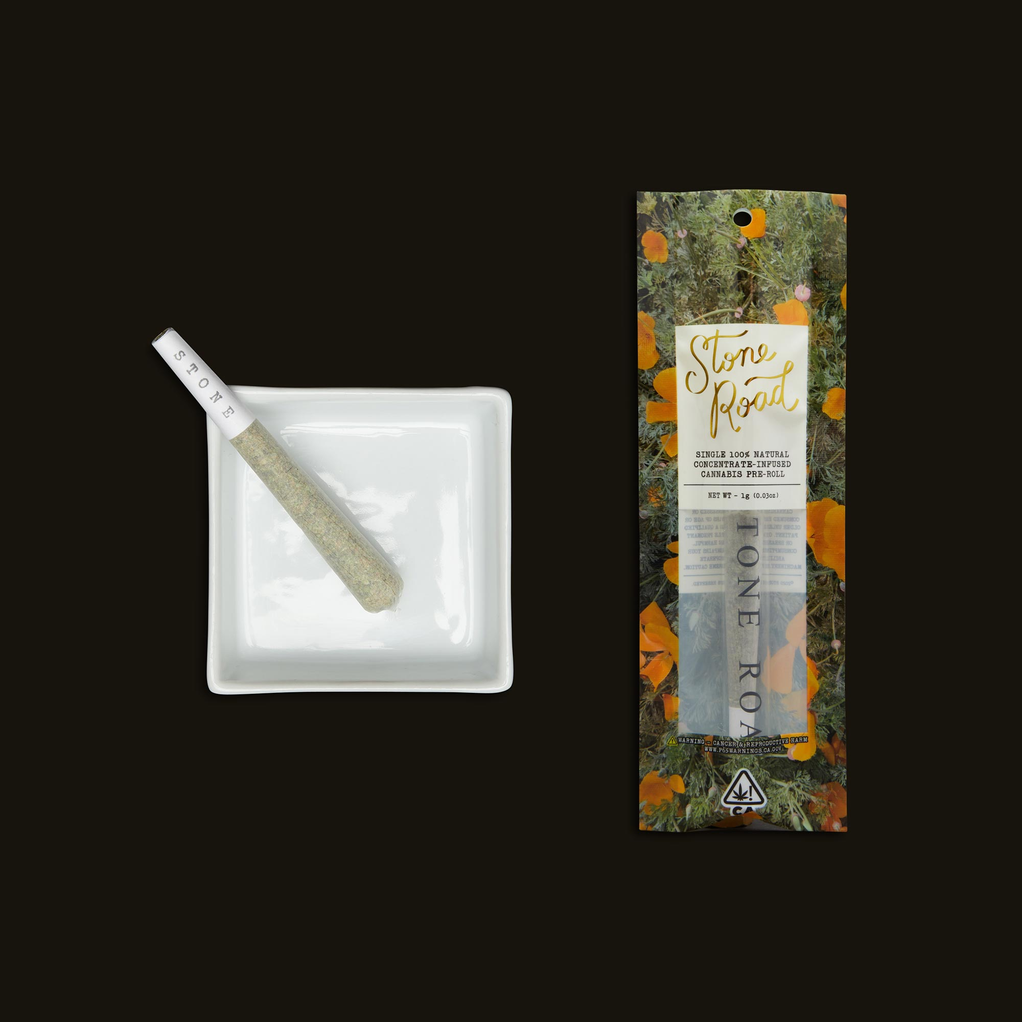 Stone Road Papaya Punch Infused Pre-Roll