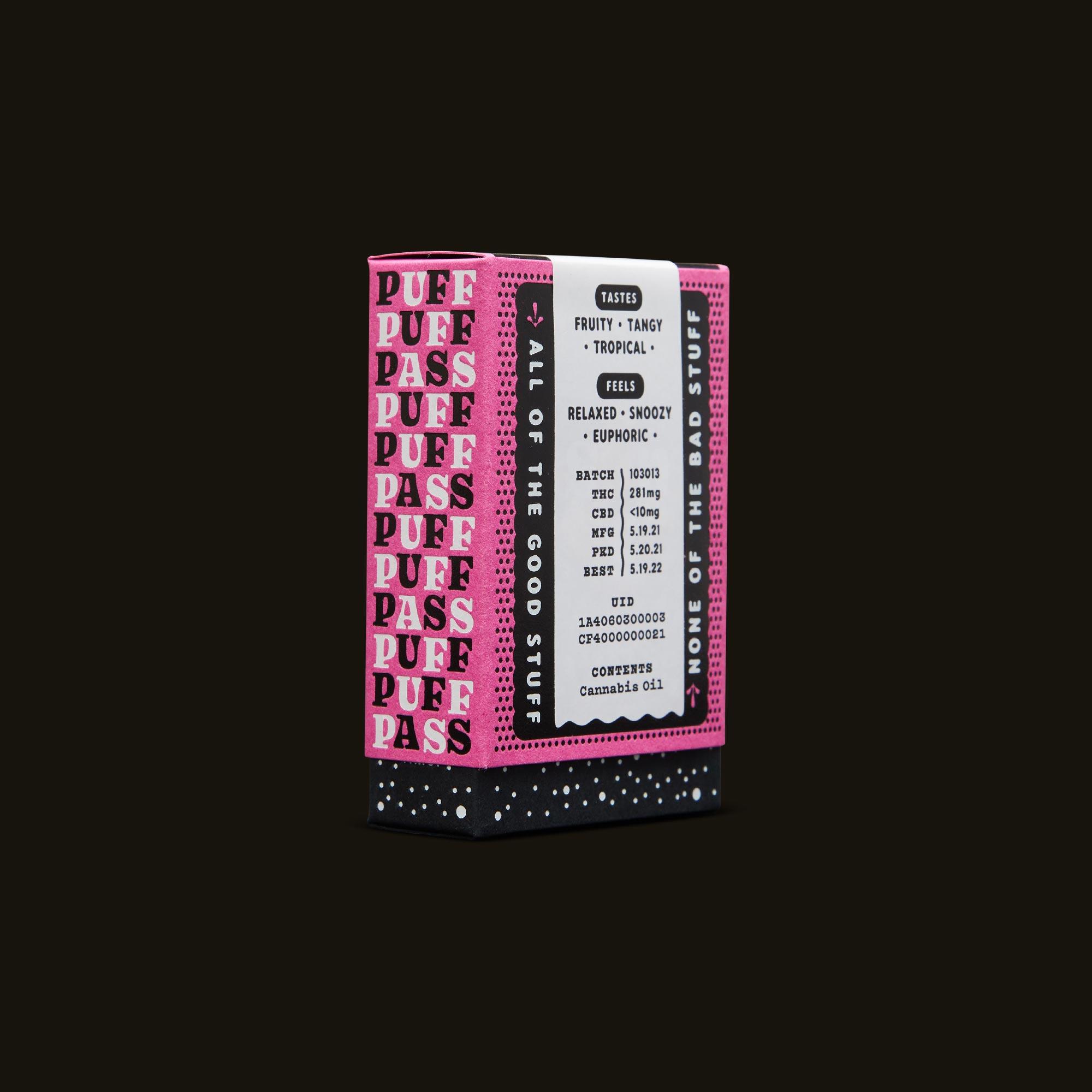 Sonder Vape Pen - Zkittlez Punch Cartridge