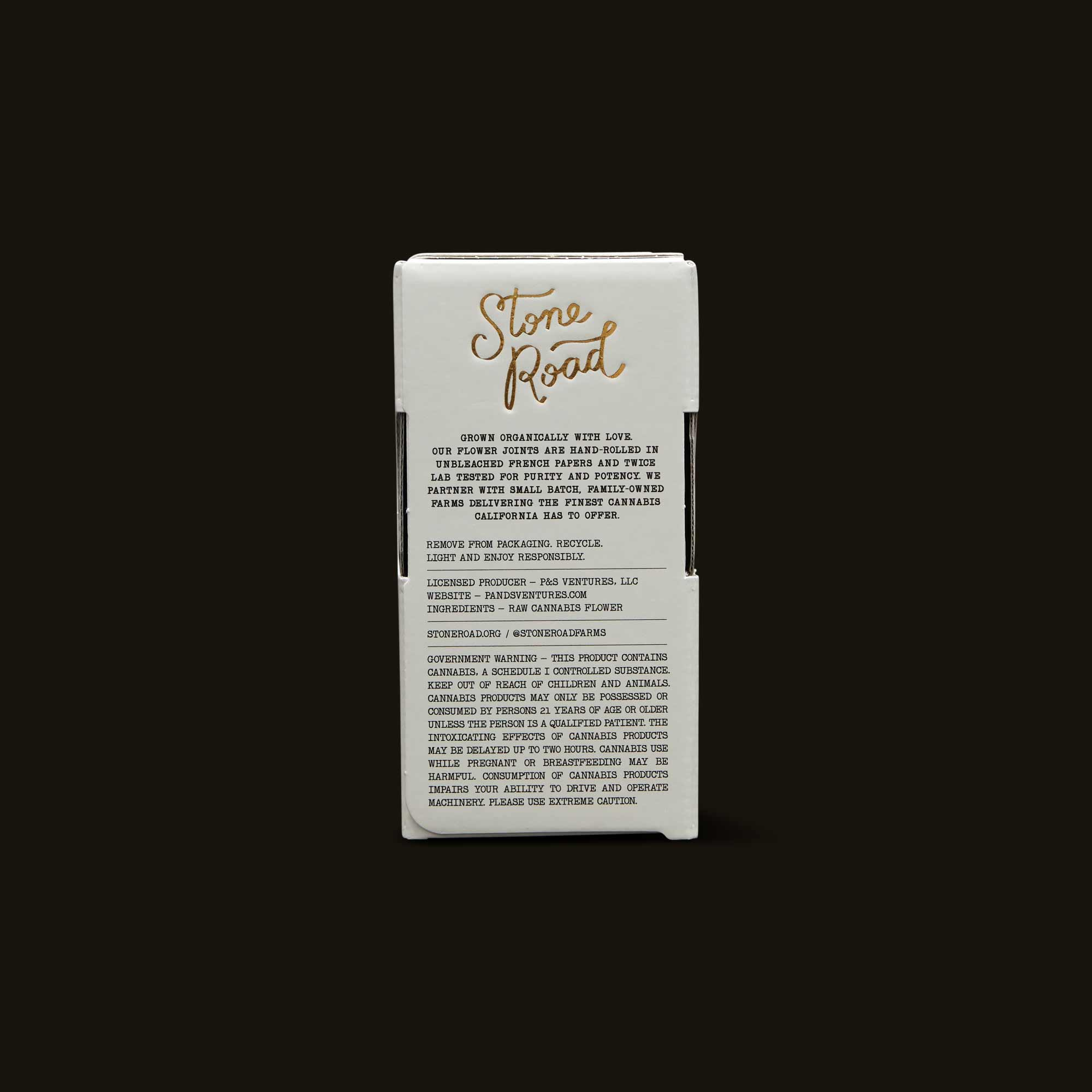 Stone Road PreRoll Packaging Details