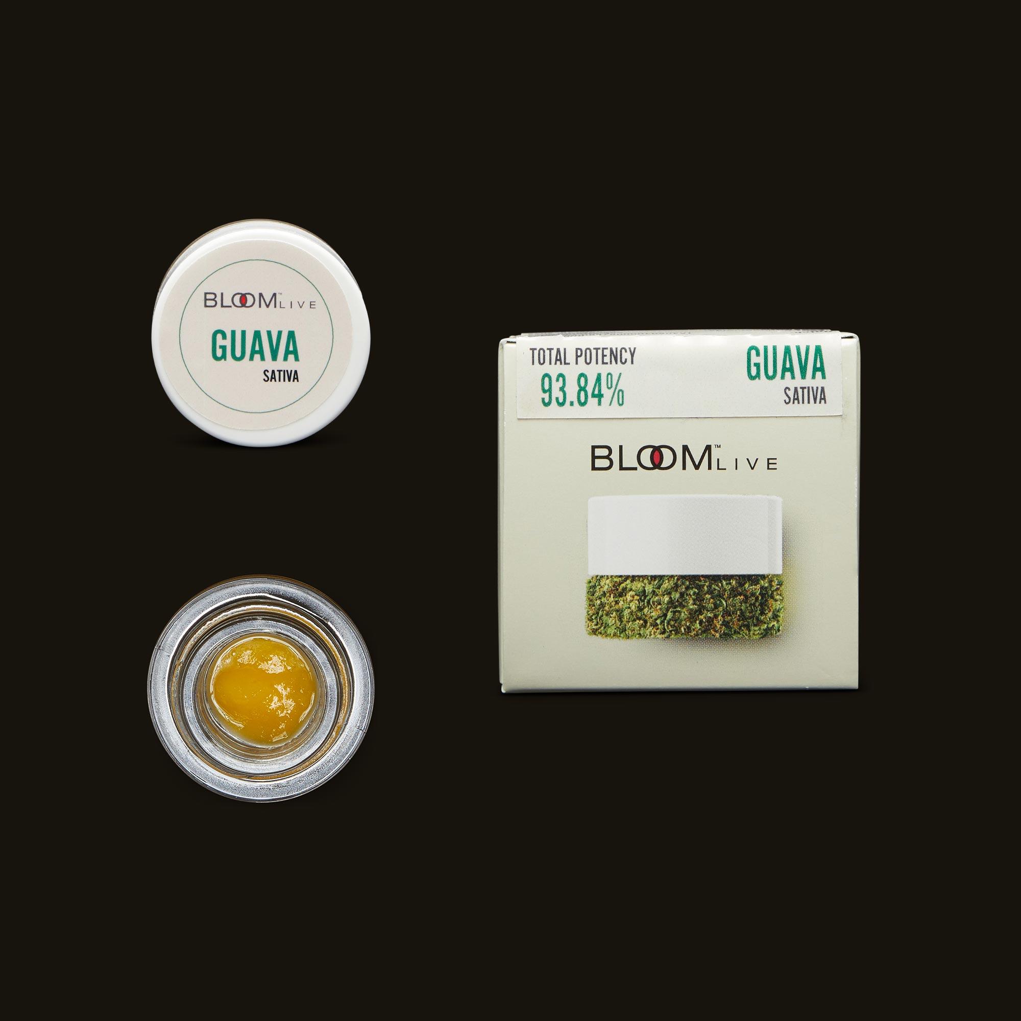 Guava Live Budder by Bloom Brands