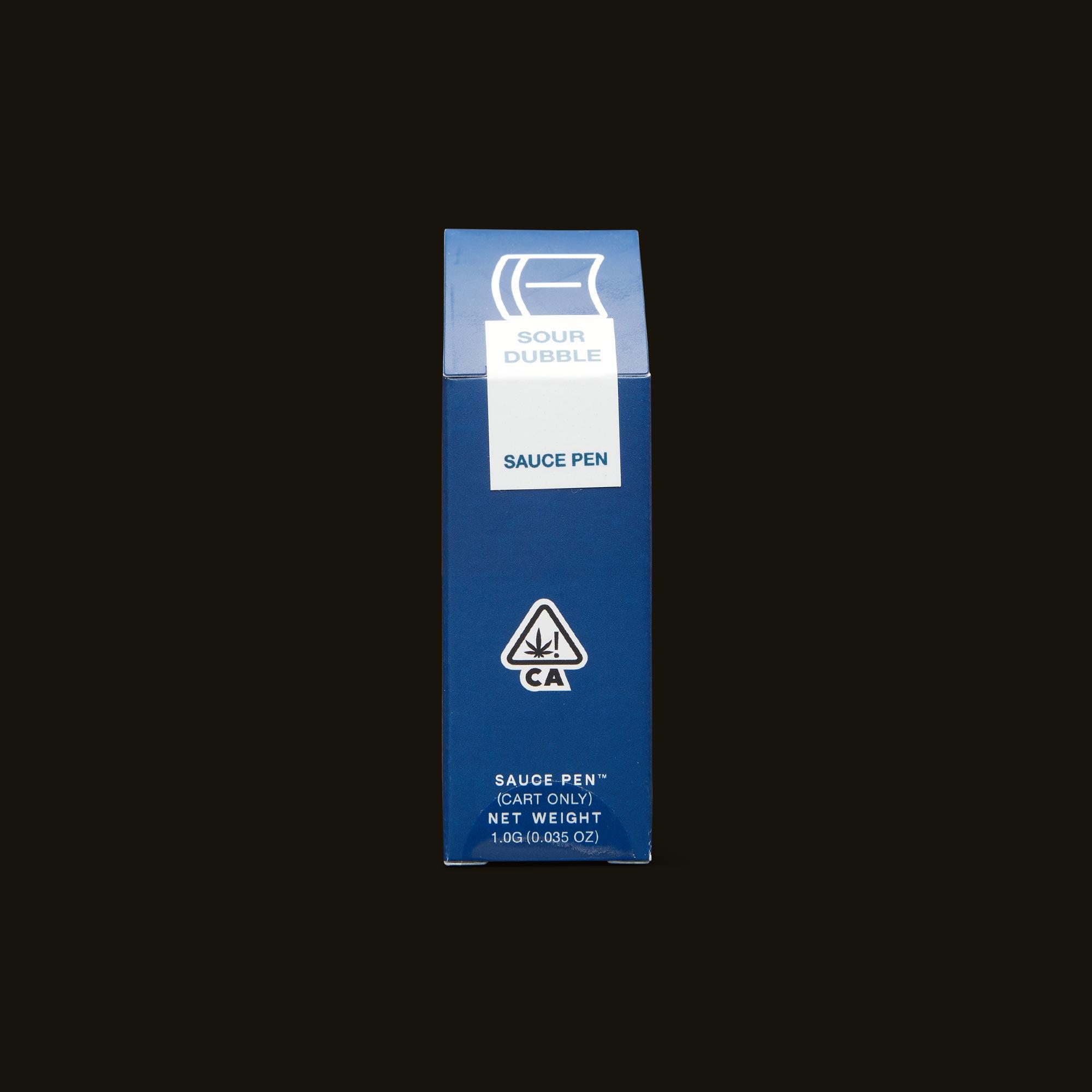 Sour Dubble Sauce Pen - 1g cartridge
