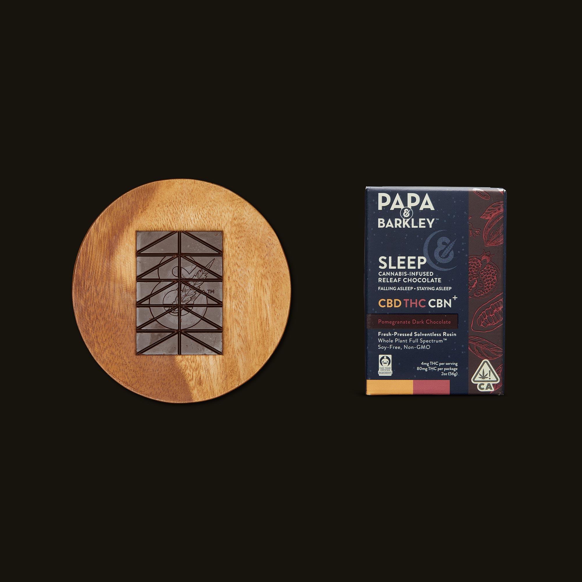 Papa & Barkley Sleep Pomegranate Dark Chocolate