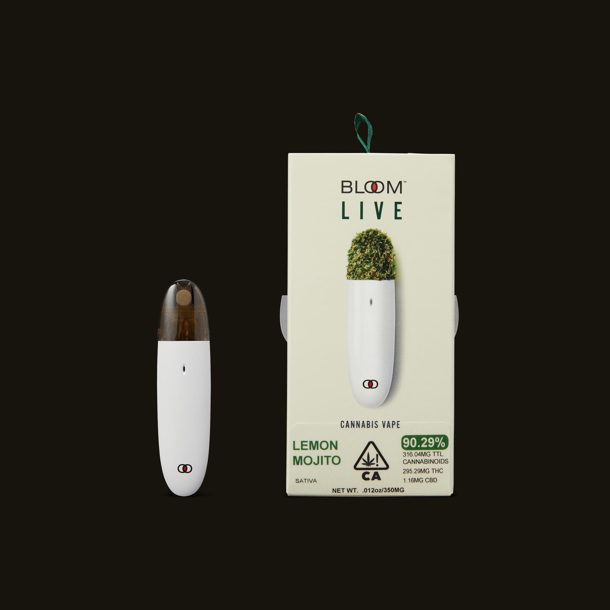 Bloom Brands Lemon Mojito Live Surf Disposable