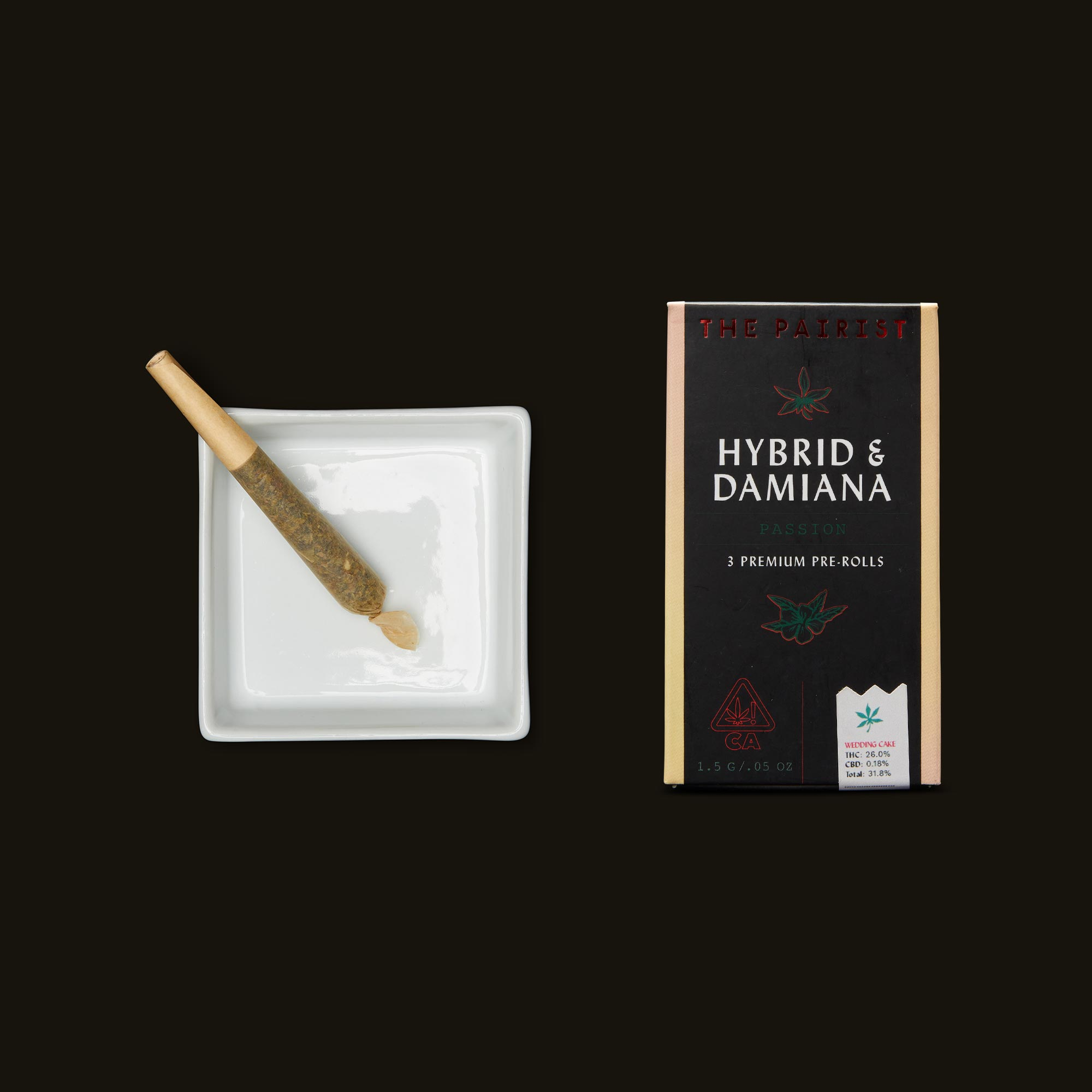 Hybrid & Damiana Pre-Rolls by The Pairist