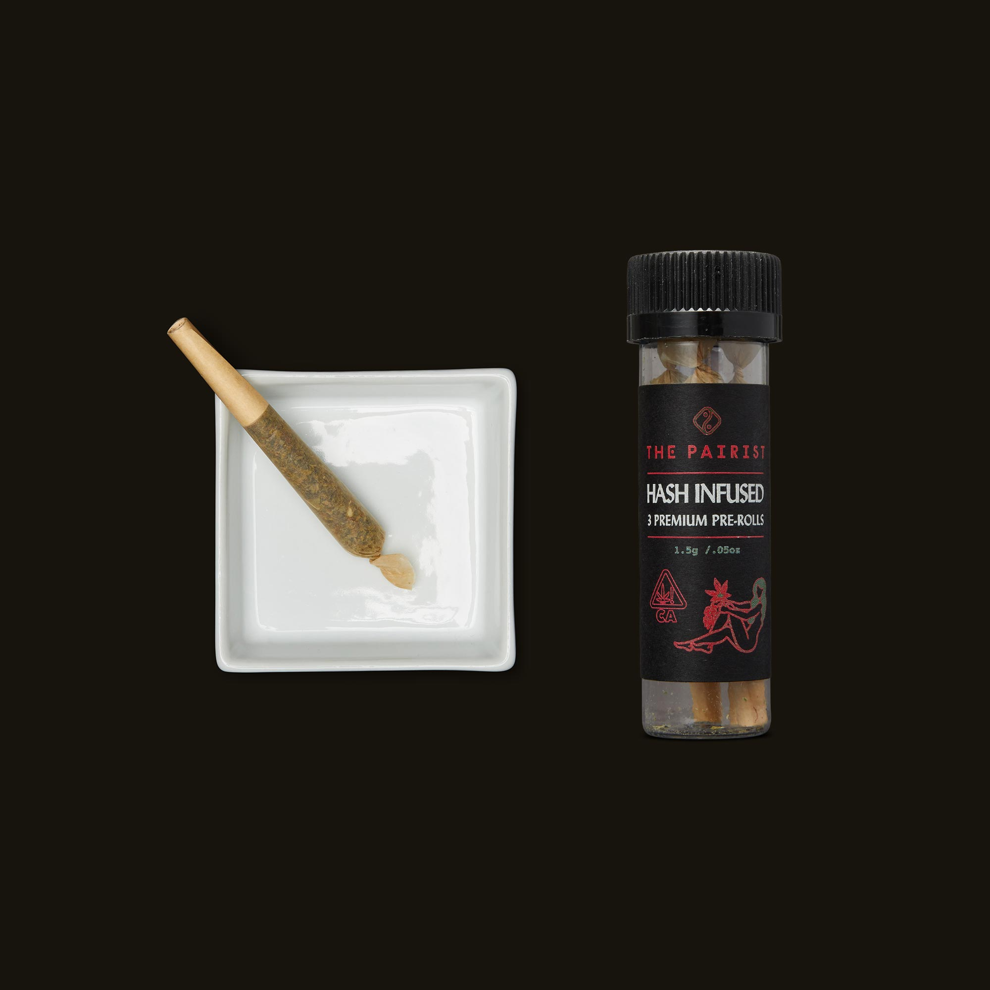 Purple Punch Hash Infused Pre-Rolls by The Pairist