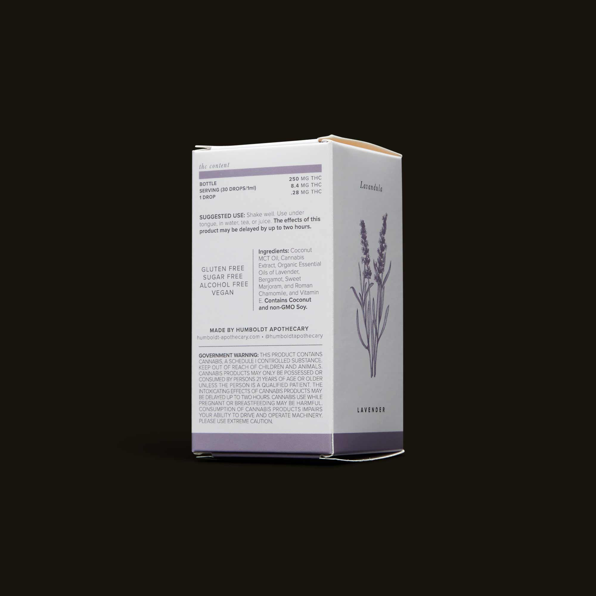 Tincture Sublingual by Humboldt Apothecary