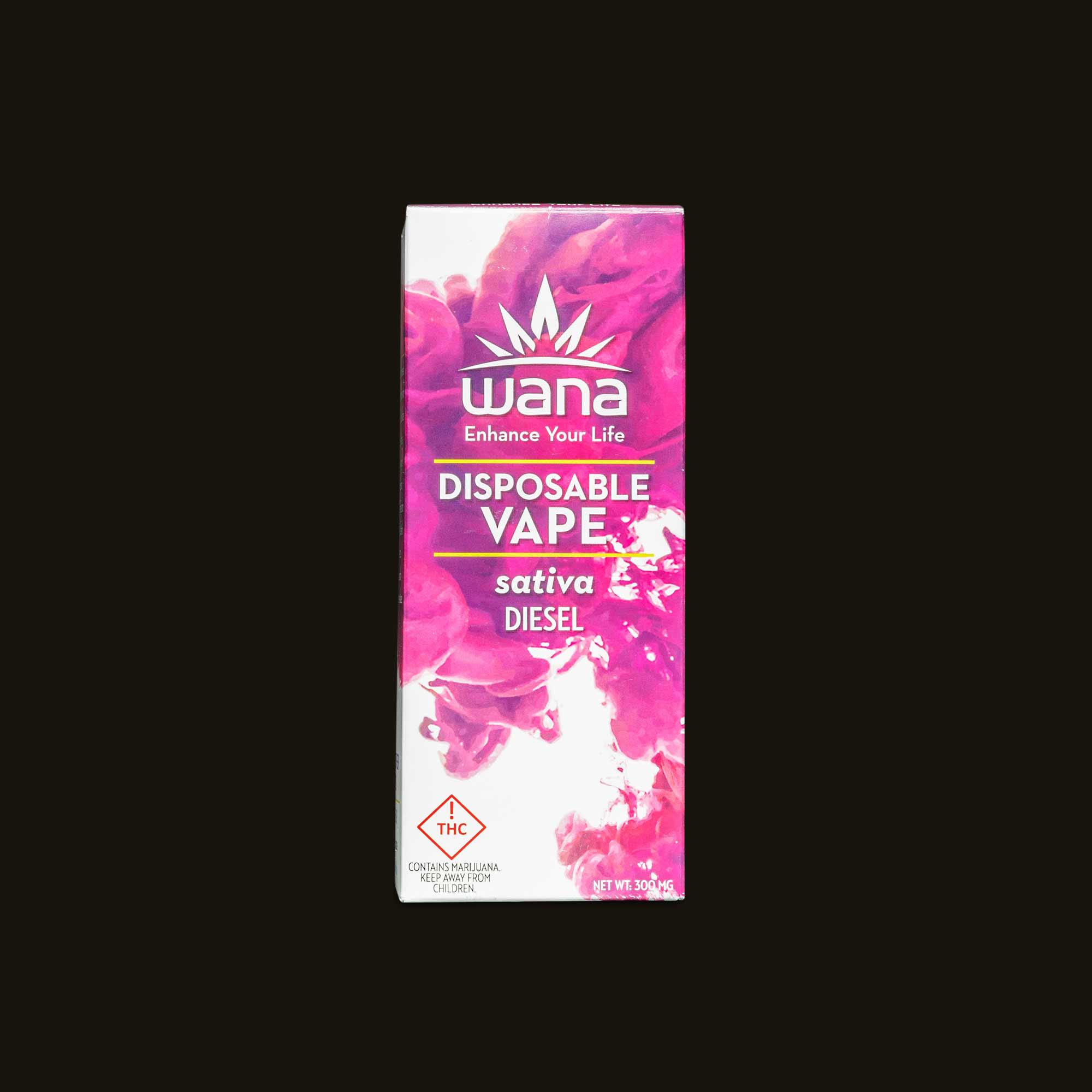 Sativa Diesel Disposable Vape  - 250mg disposable vape pen