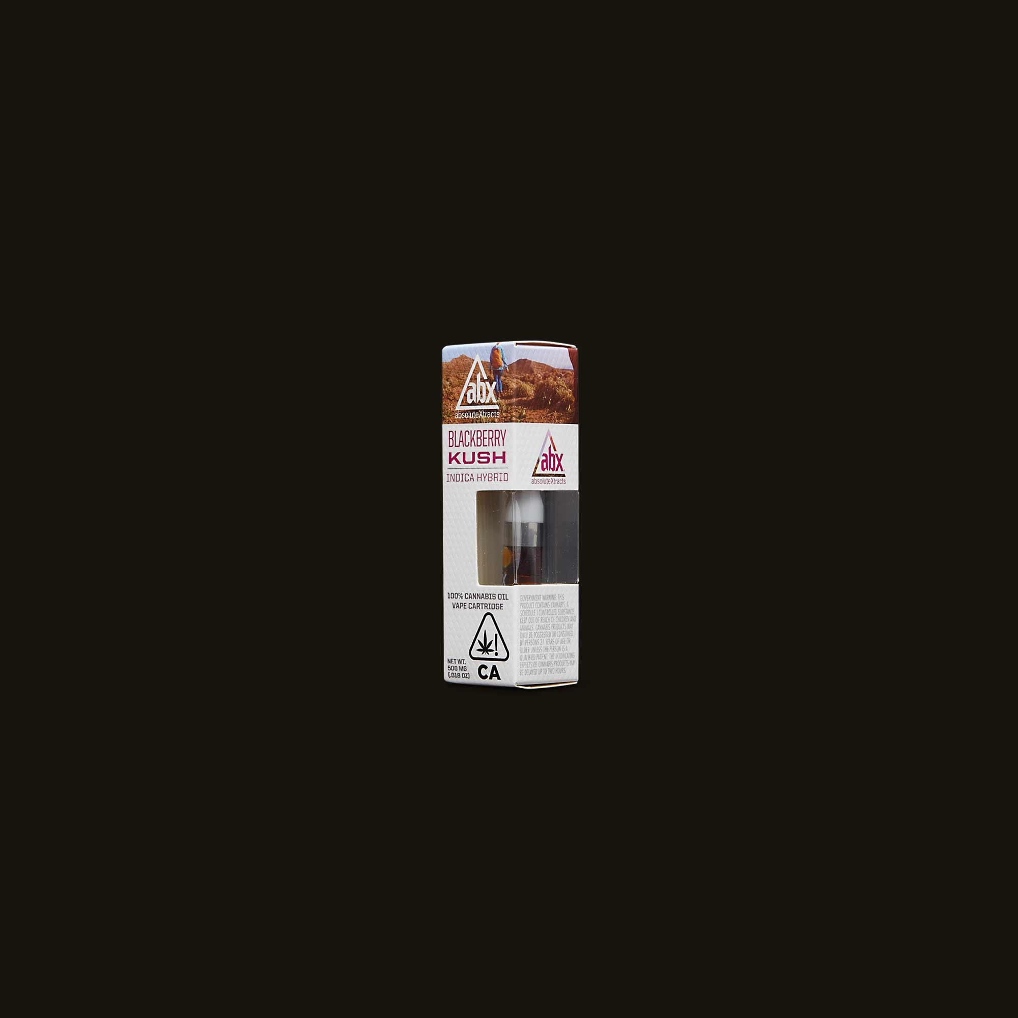 AbsoluteXtracts Vape Pen - Blackberry Kush Cartridge