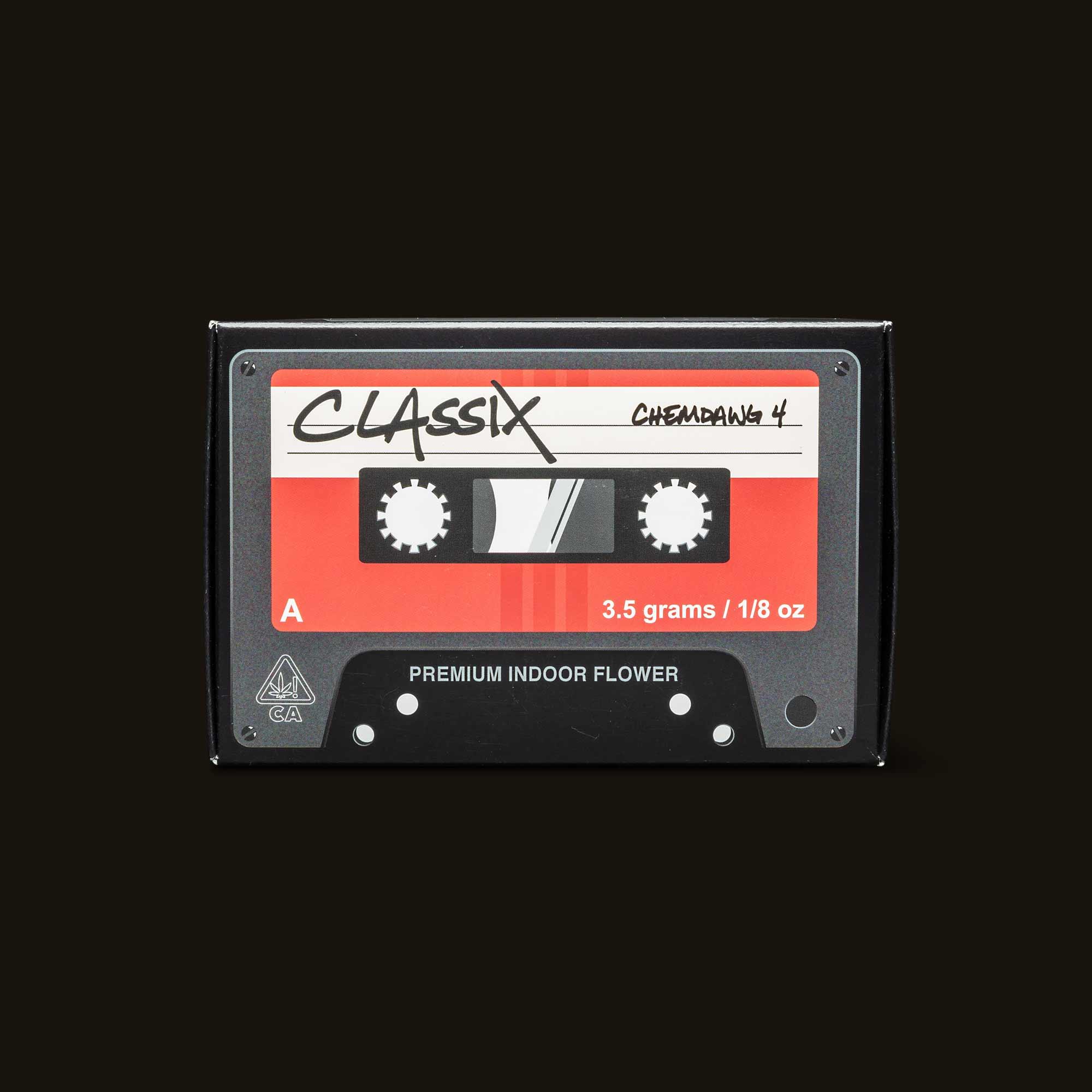 Classix Flower - Chemdawg 4