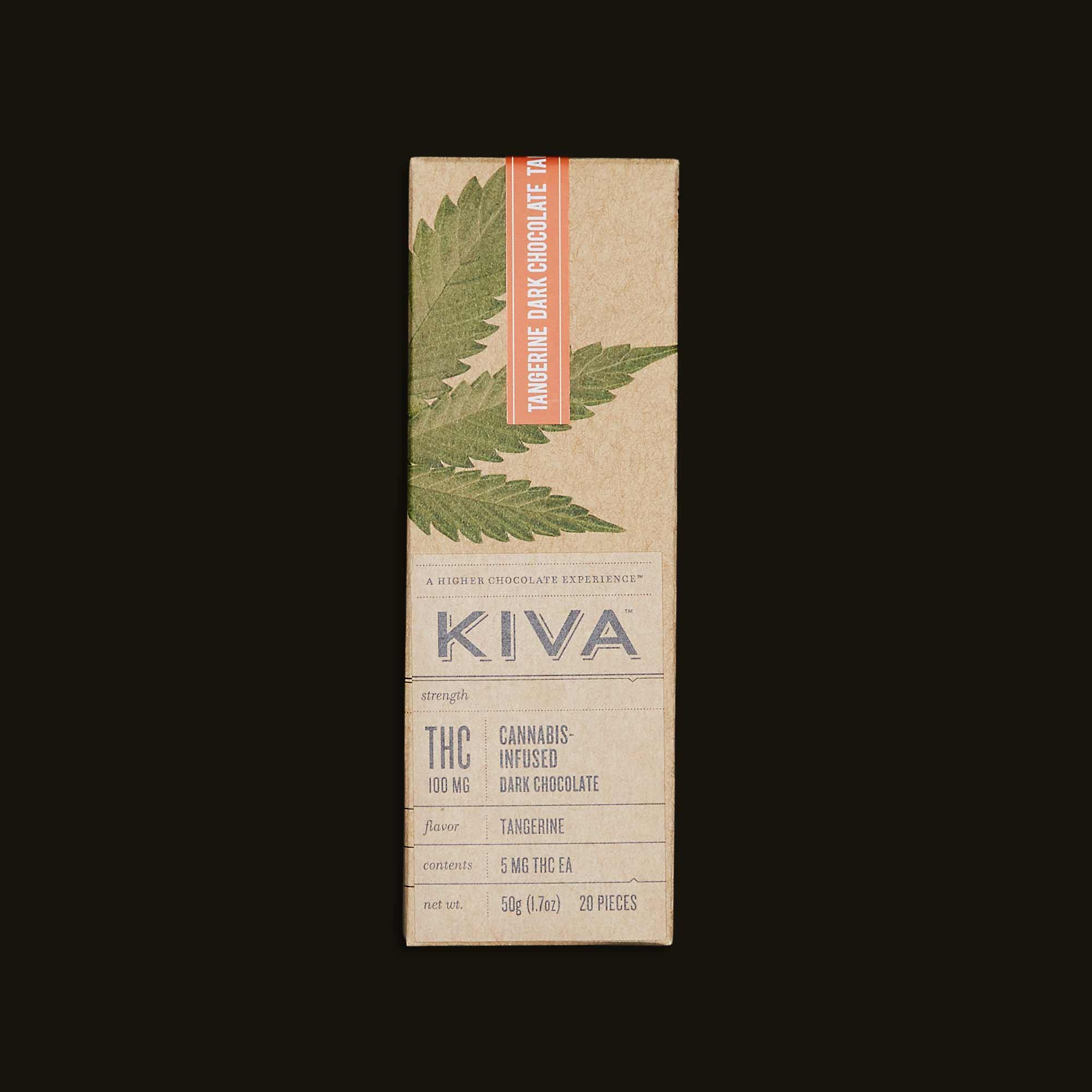 Tangerine Kiva Bar - 20 piece chocolate bar