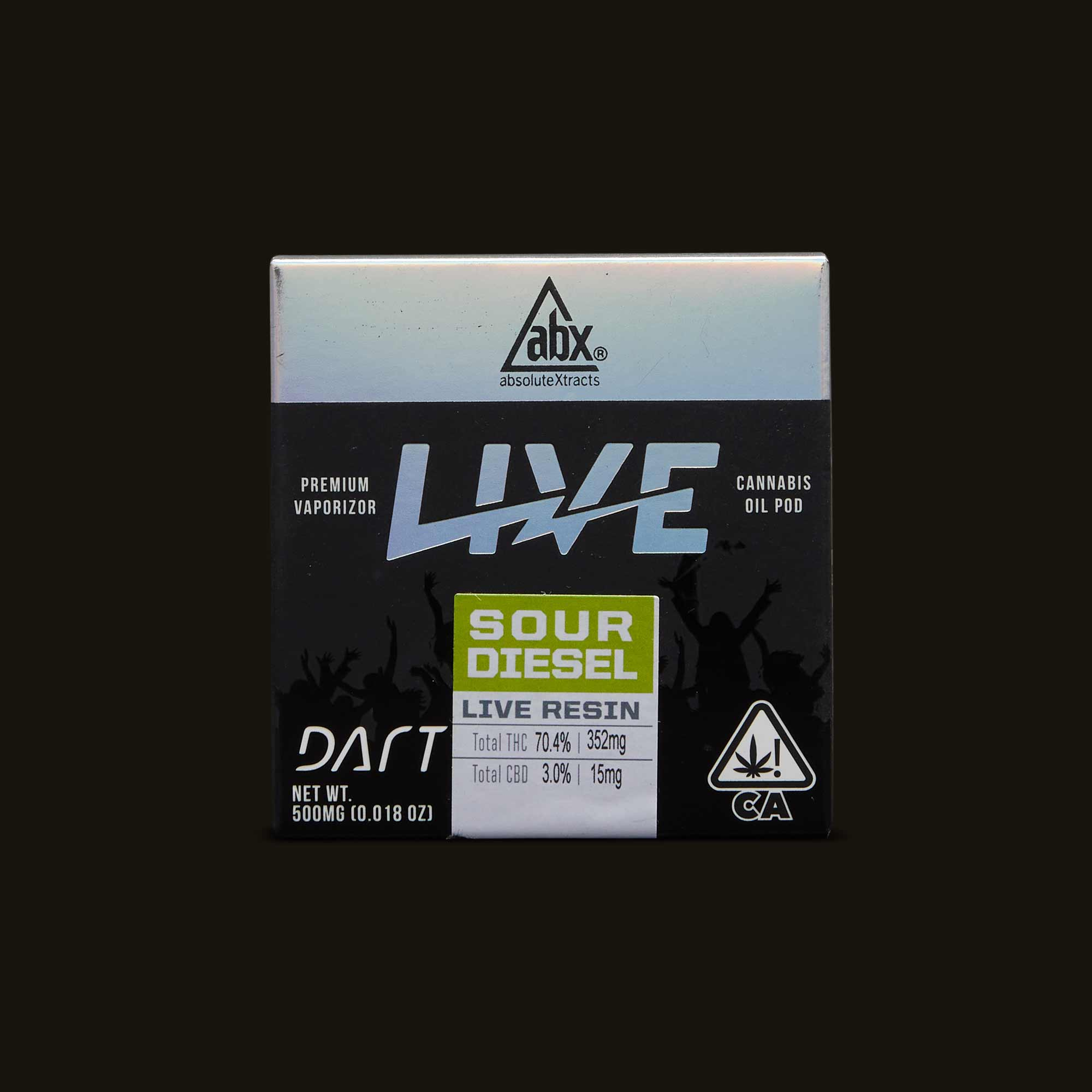 Sour Diesel Live Resin Dart Pod - 1 dart pod