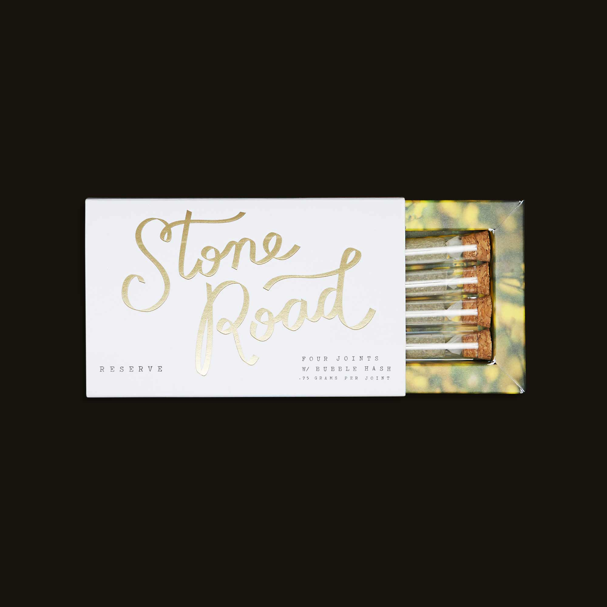 Stone Road Reserve - Four 0.75g hash infused joints