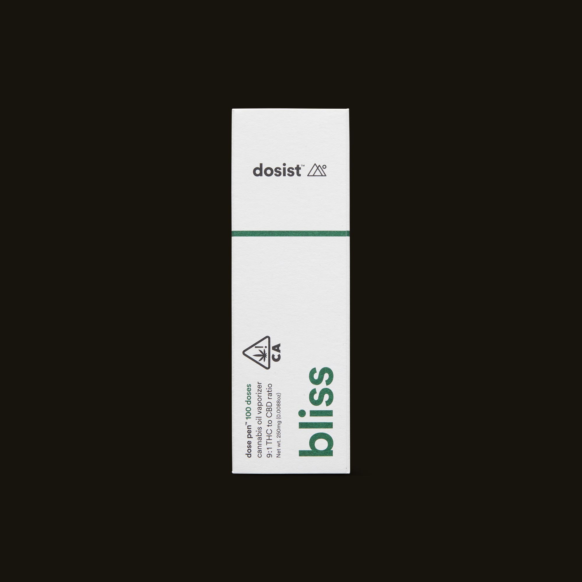 dosist bliss dose pen front box