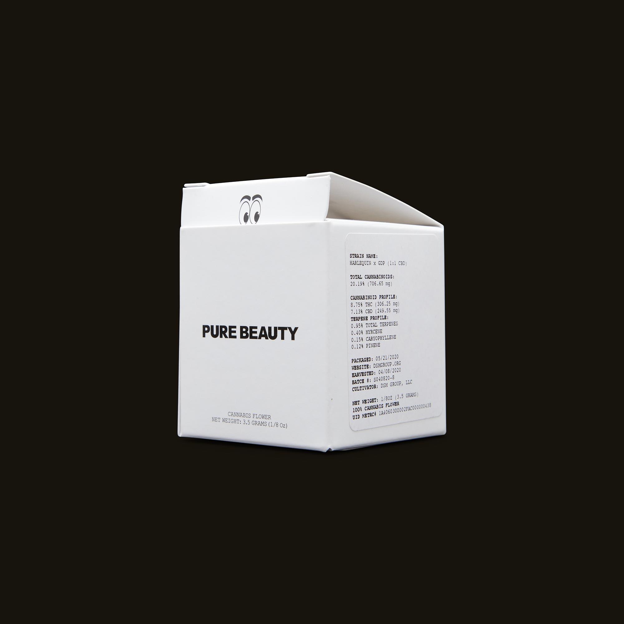 Pure Beauty Harlequin x GDP Side Box