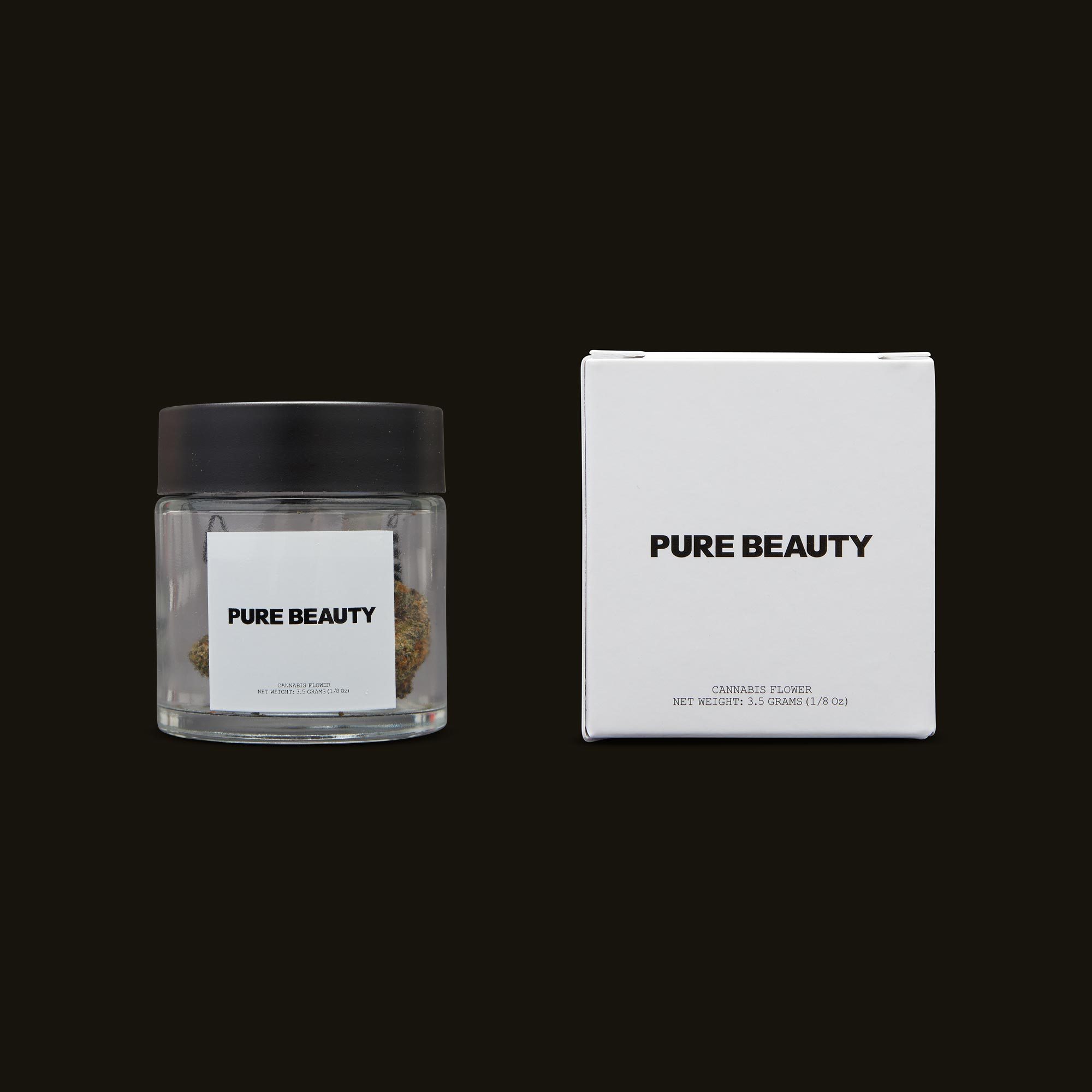 Pure Beauty Harlequin x GDP Jar and Box