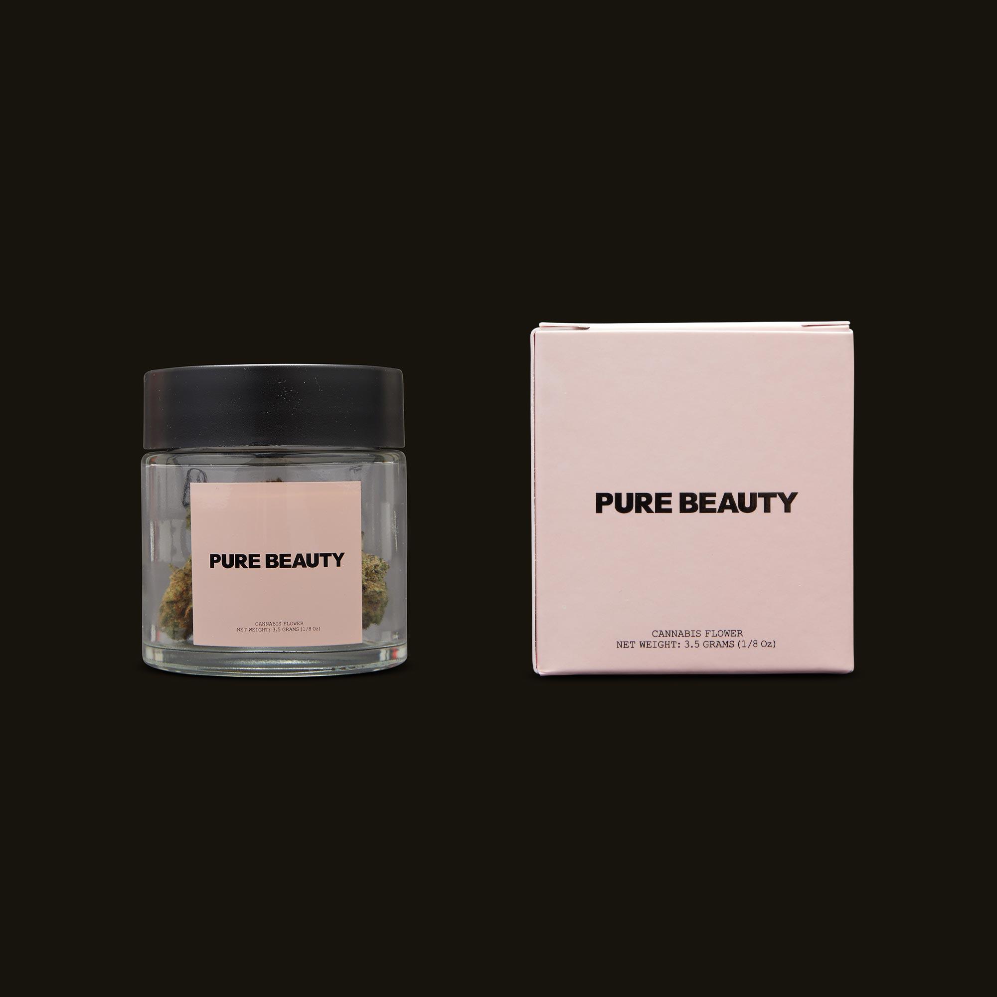 Pure Beauty Lava Cake Jar and Box
