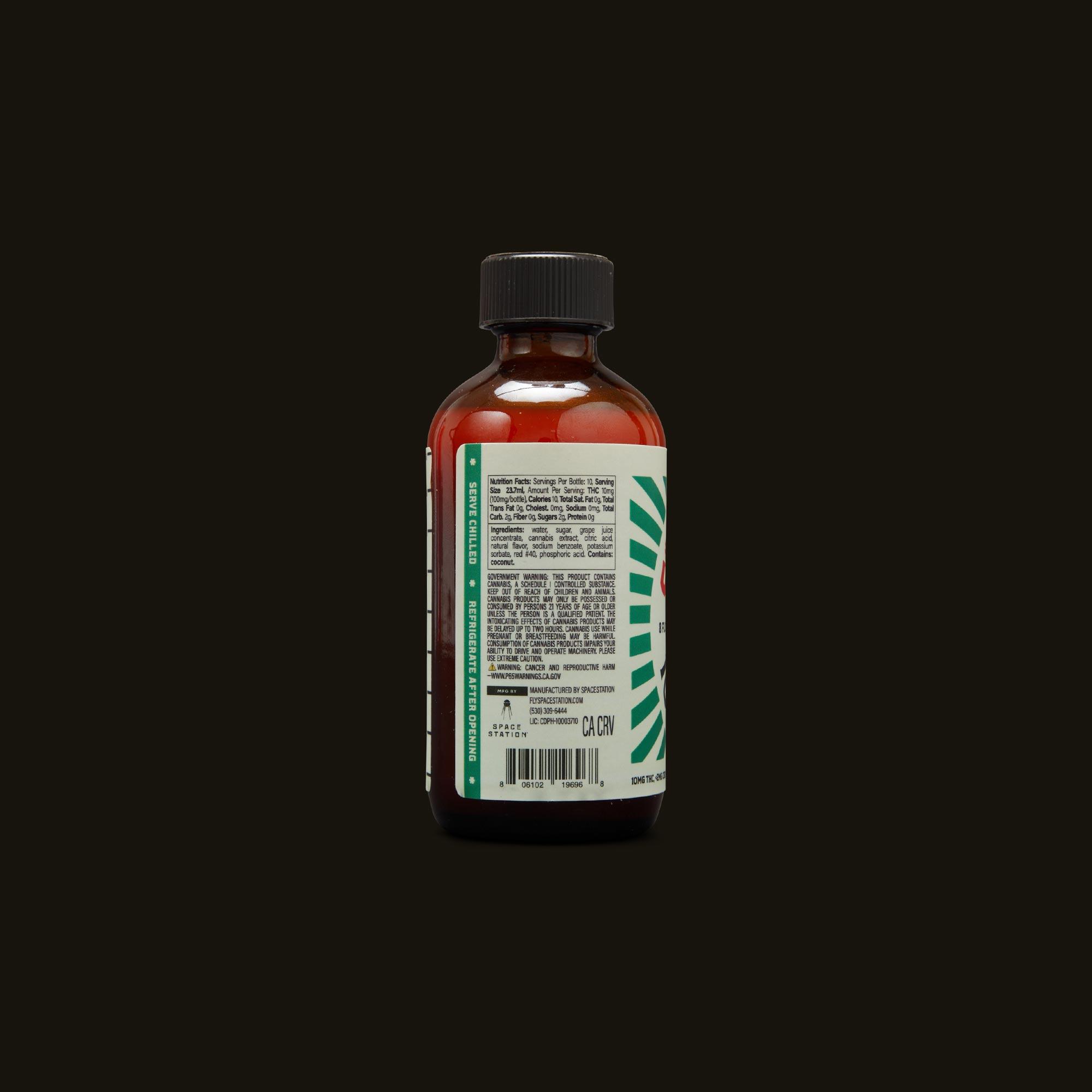 S-Shots Watermelon Punch Ingredients
