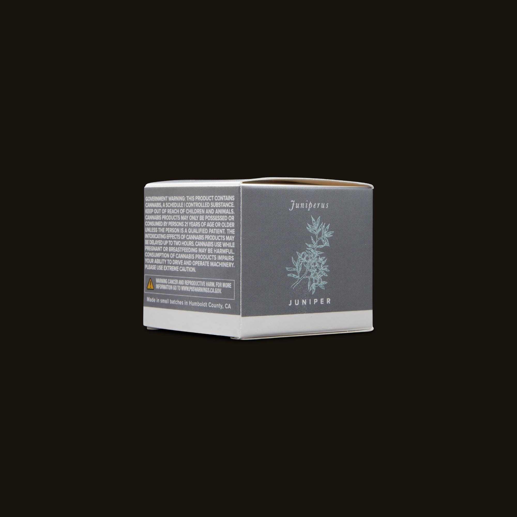 Humboldt Apothecary Juniper CBD Balm Side Packaging