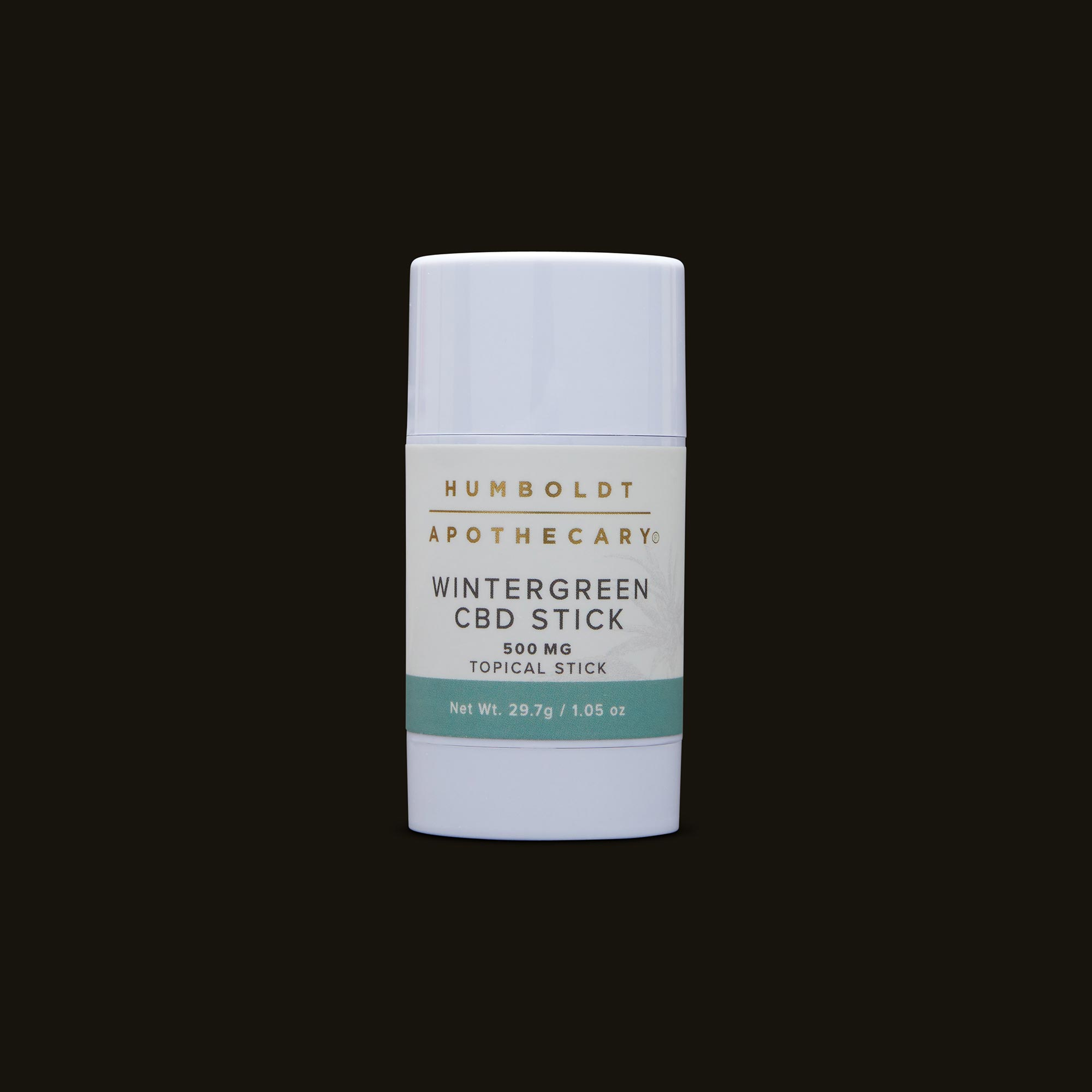 Humboldt Apothecary Wintergreen CBD Stick Front Packaging