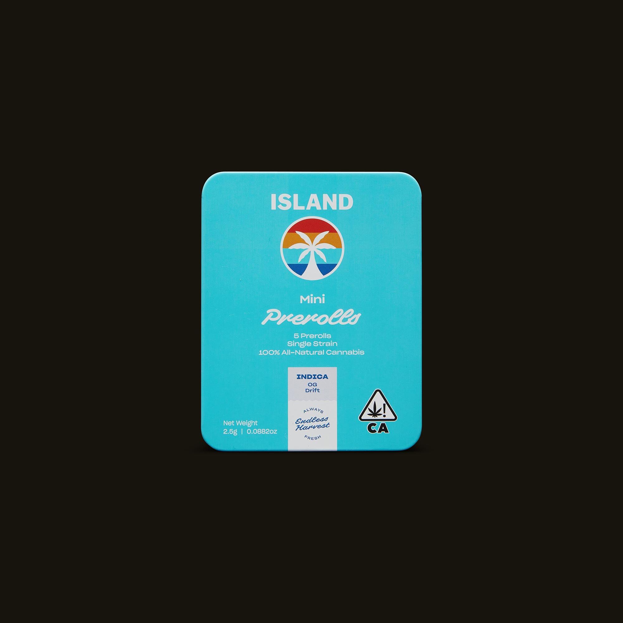 Island OG Drift Mini's Front Packaging