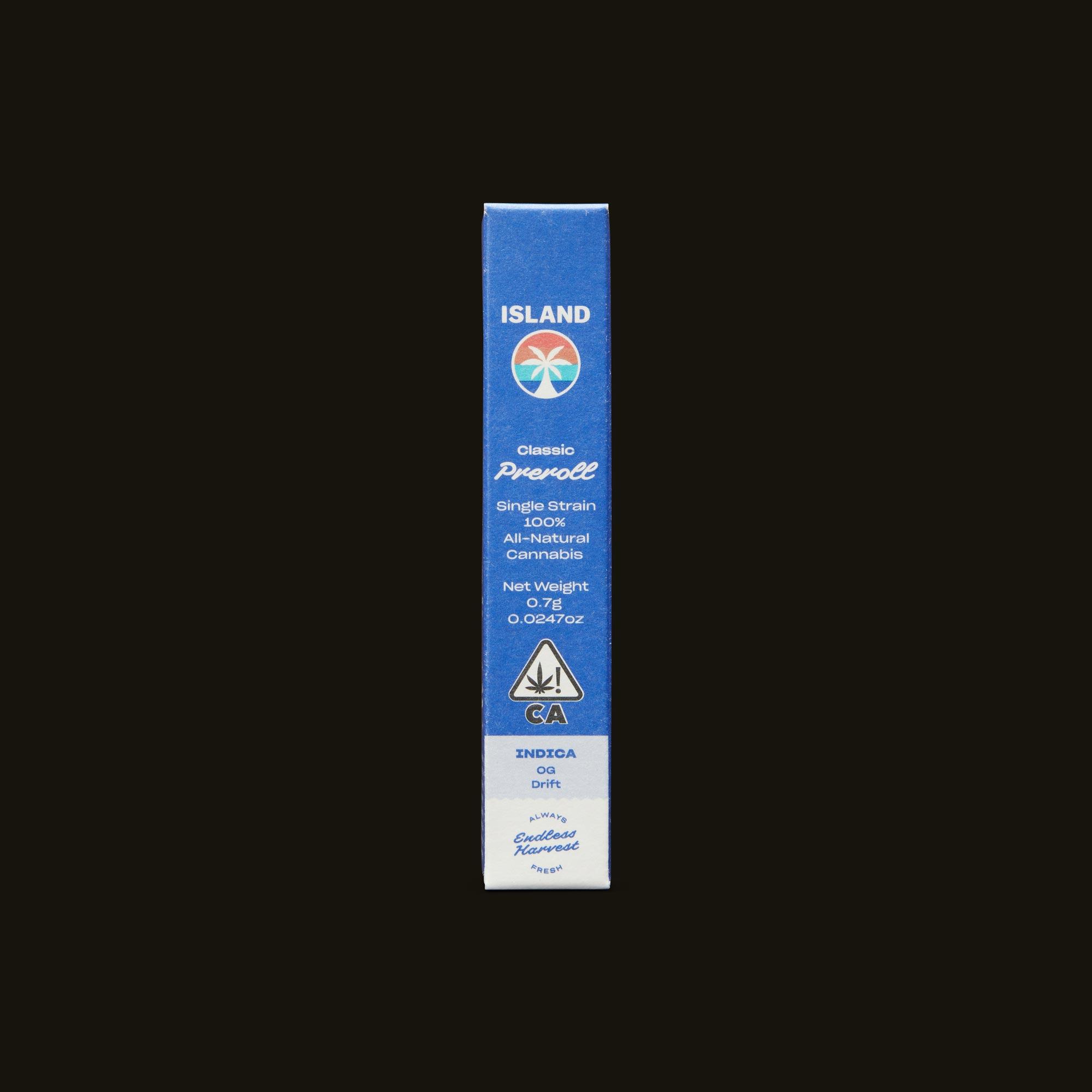 Island OG Drift Classic Front Packaging
