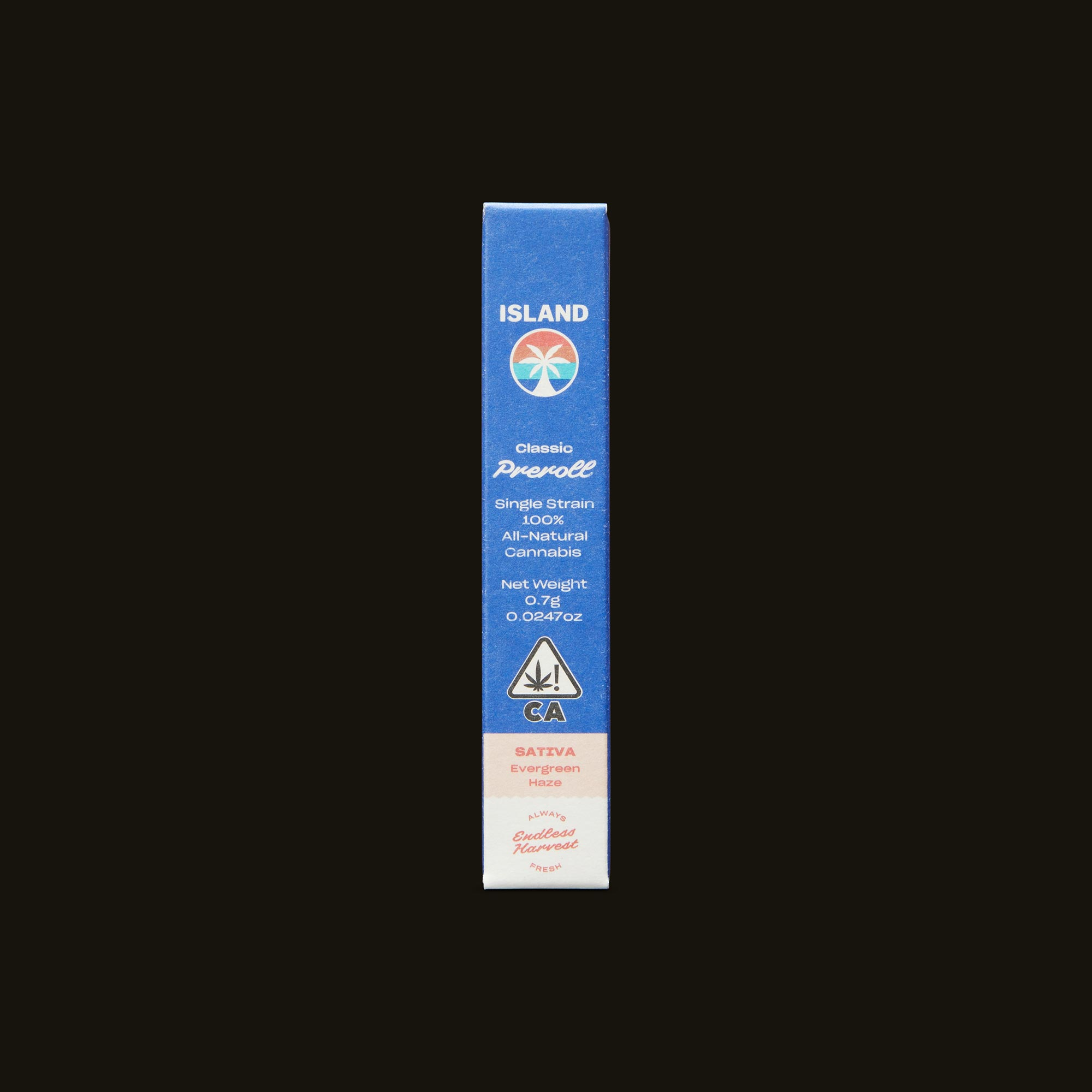 Island Evergreen Haze Classic Front Packaging