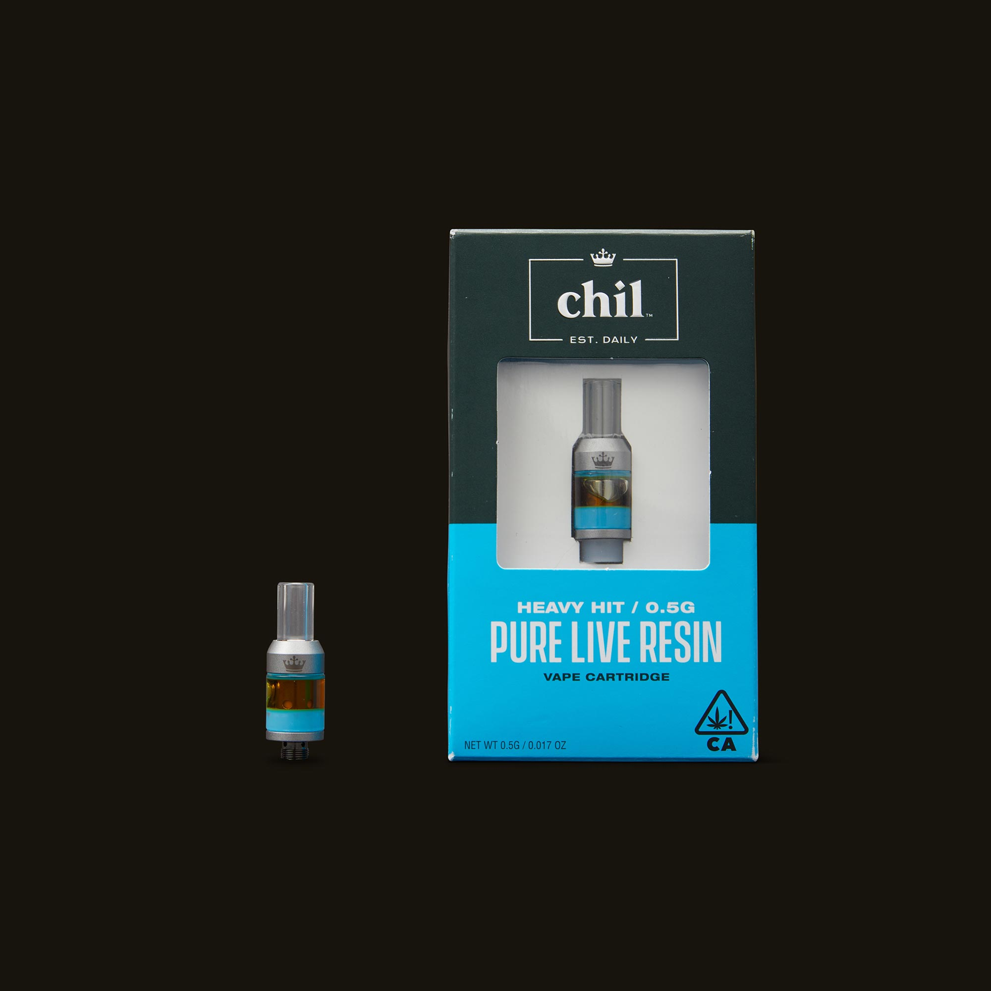 Chil Lemon Meringue Pure Live Resin Cartridge with Box