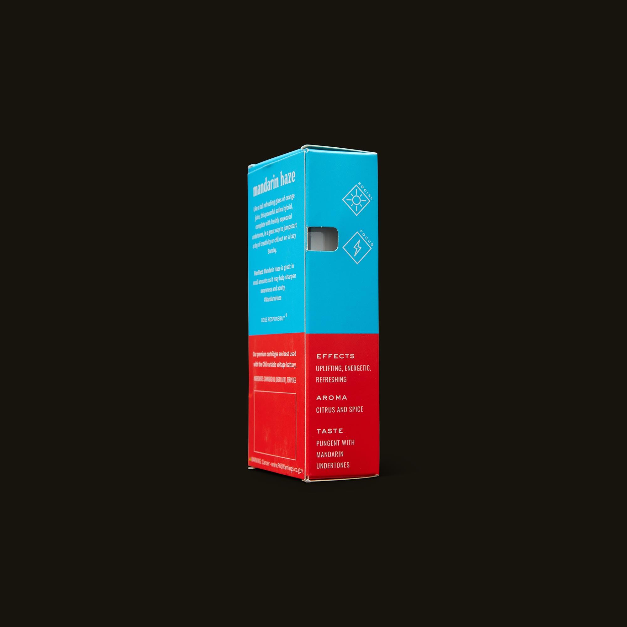 Chil Mandarin Haze Cartridge Side of Box