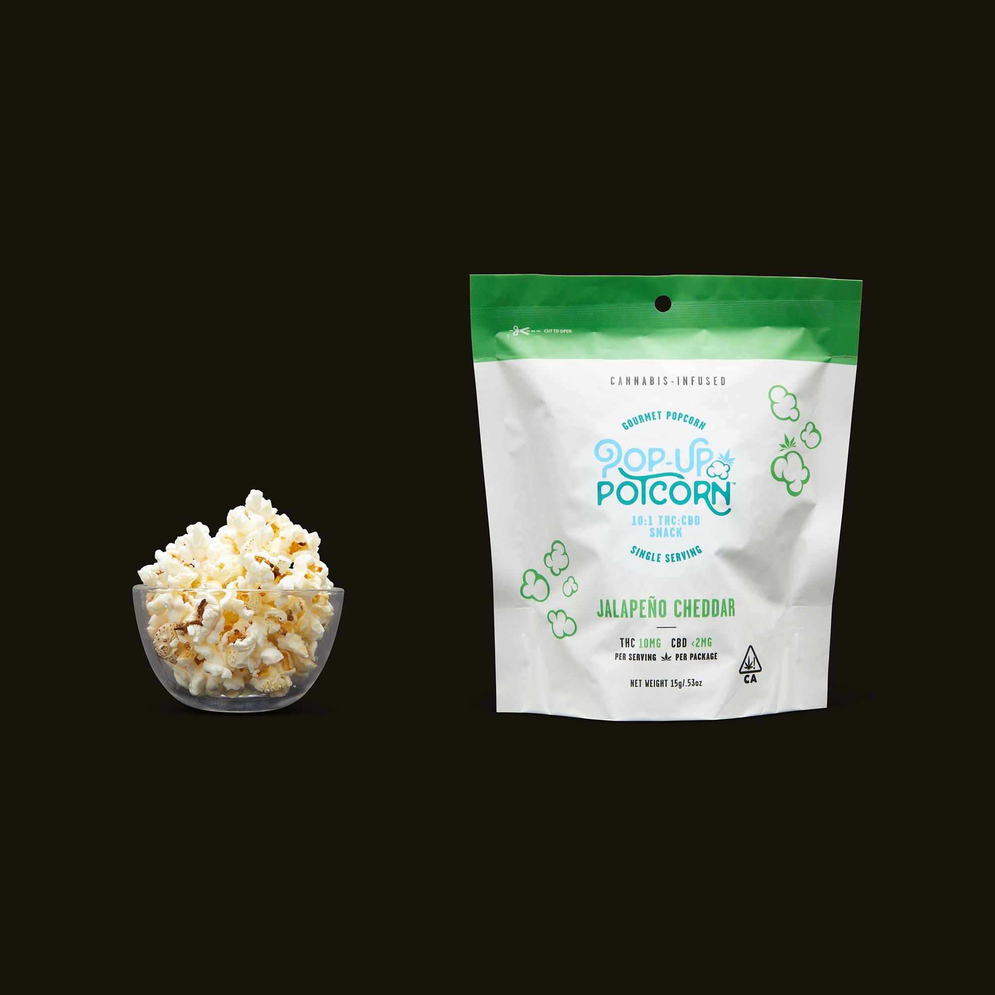 Pop-Up Potcorn Jalapeno Cheddar Popcorn 10:1 - Single