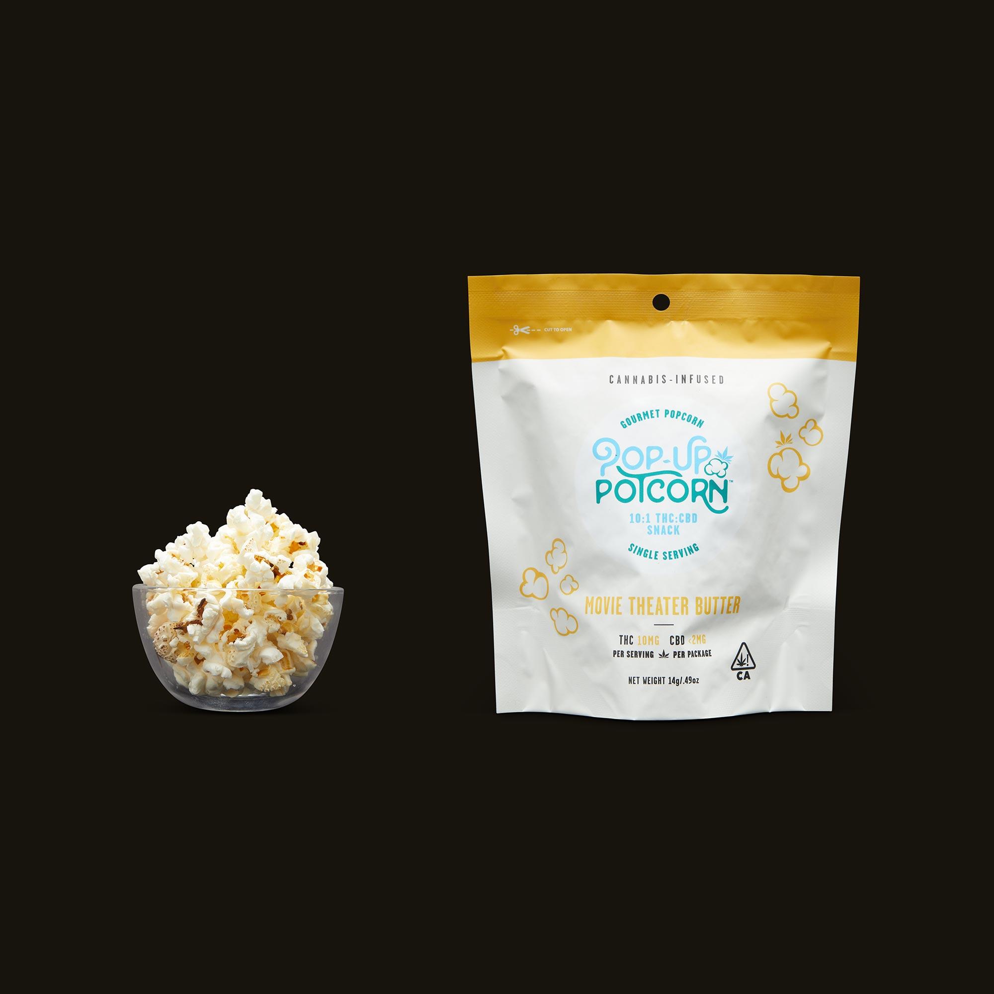 Pop-Up Potcorn Movie Theater Butter Popcorn 10:1 - Single