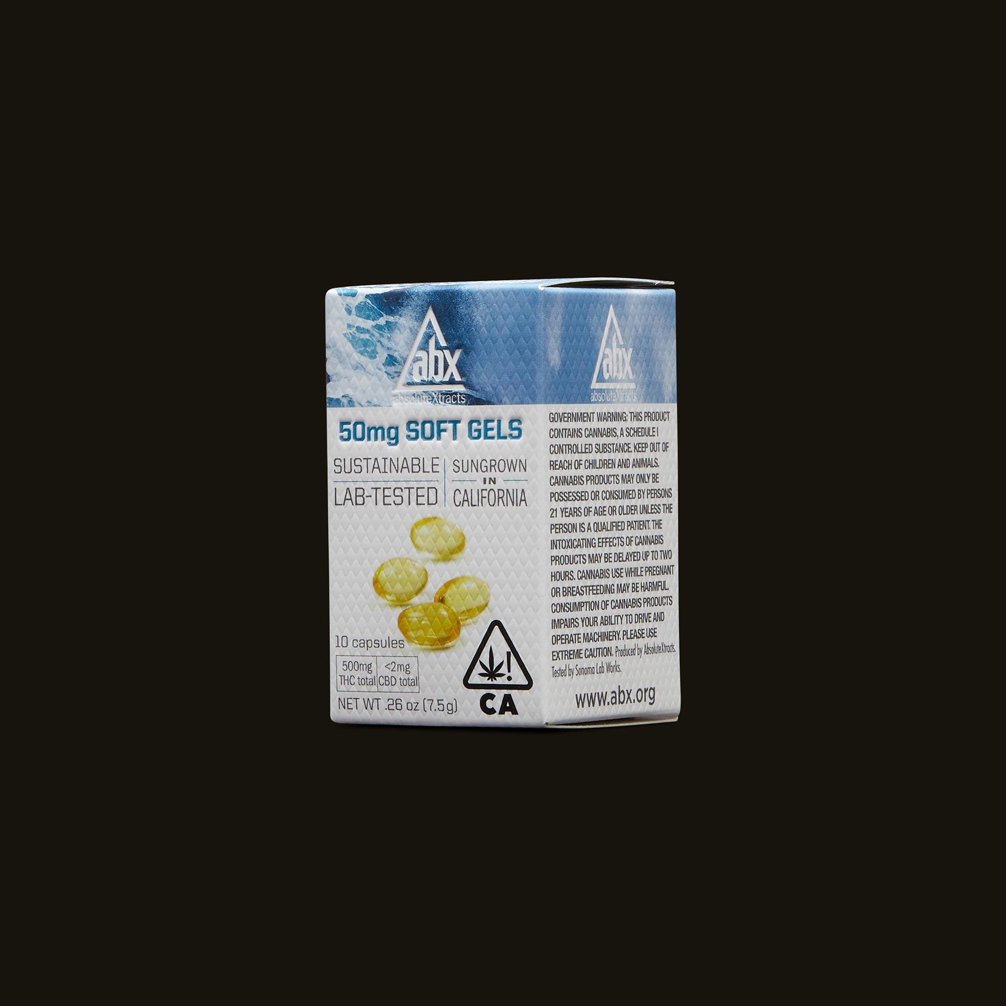 ABX 50mg Soft Gels