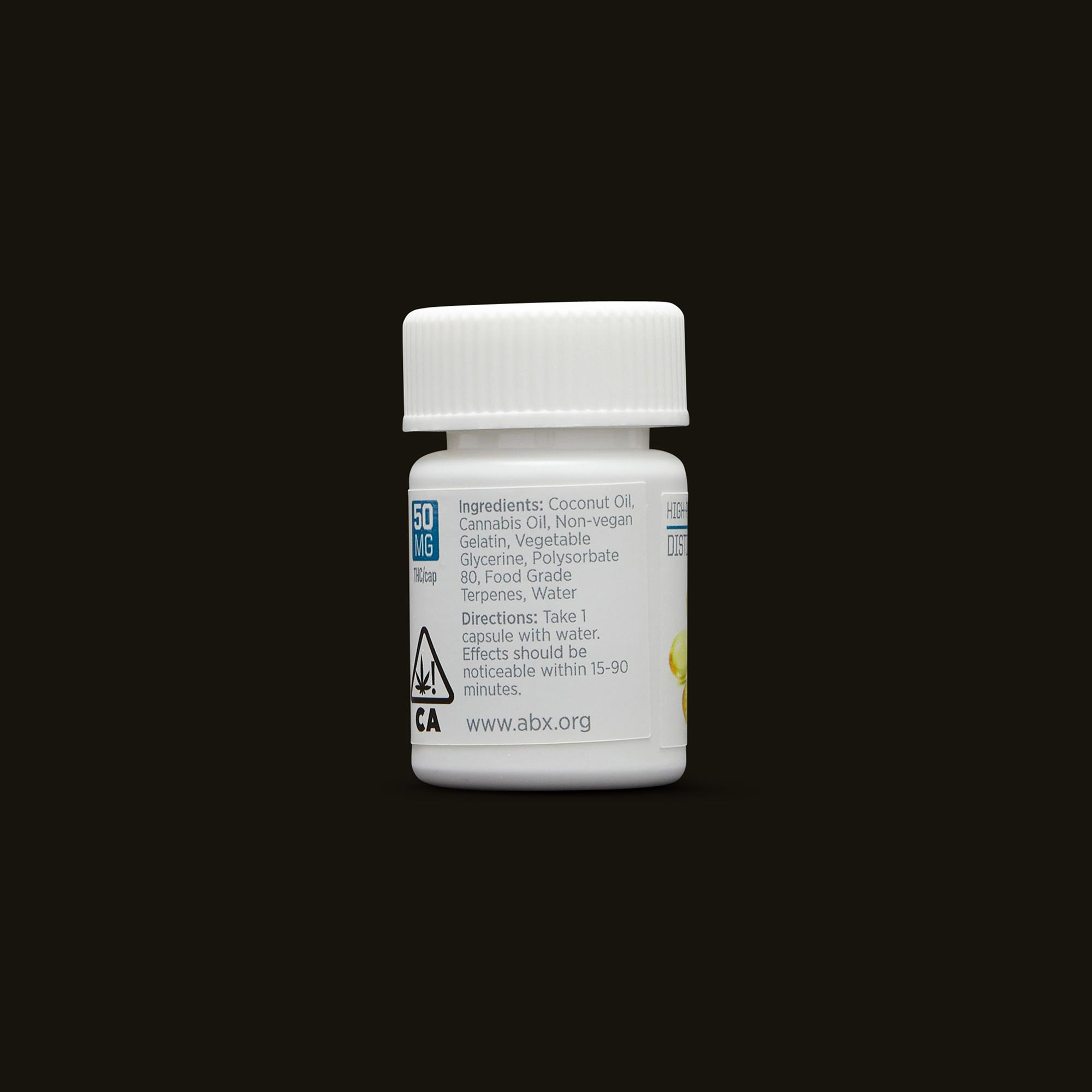 Absolute Extracts 50mg SoftGel ingredients