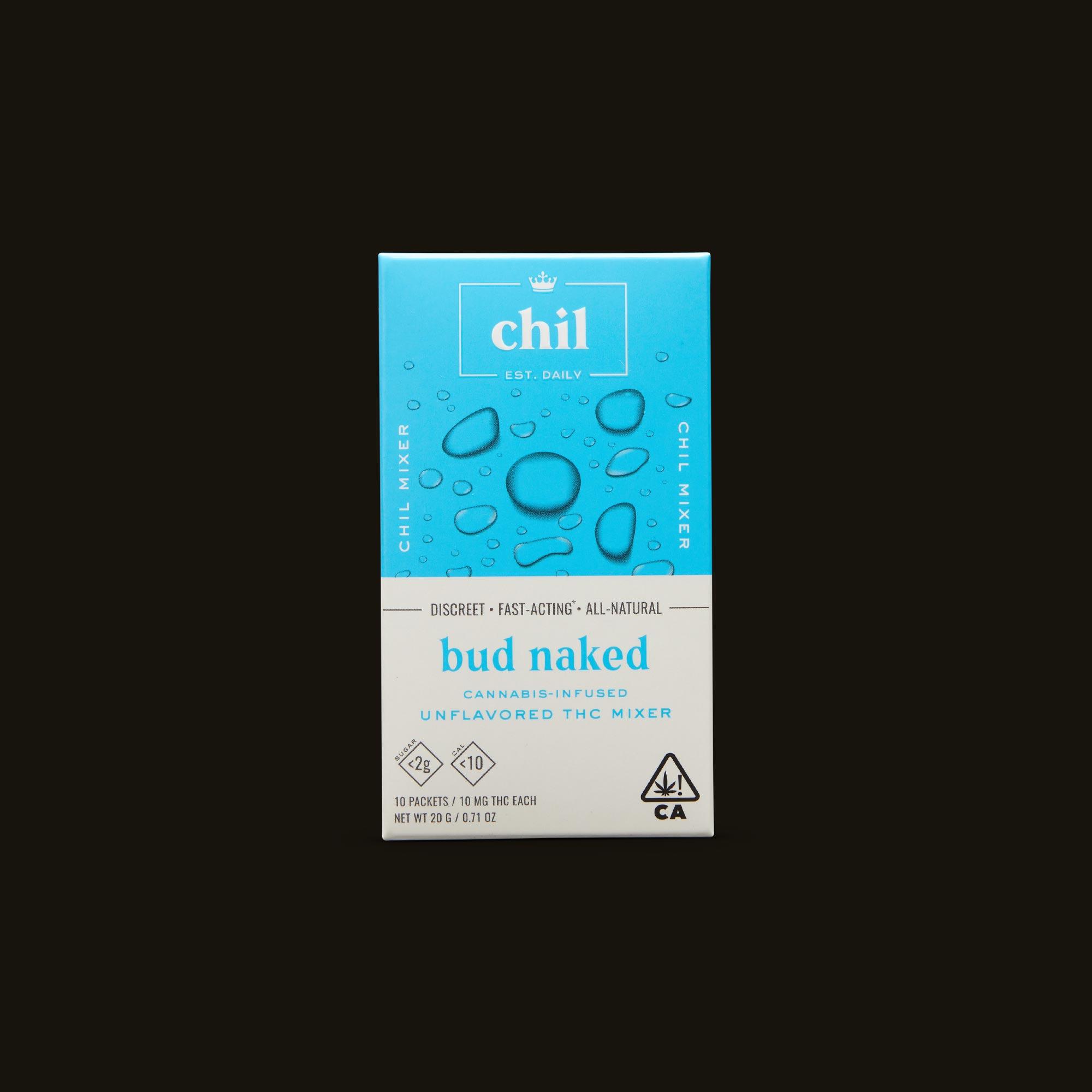 Chil Bud Naked Mixer Front Box