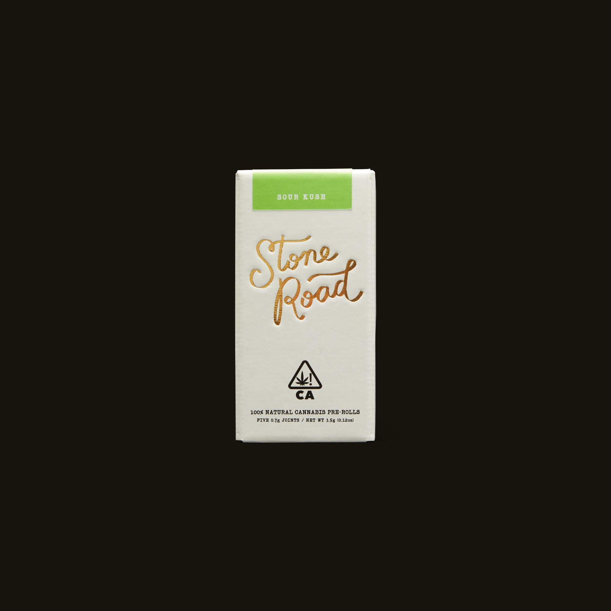 Stone Road Sour Kush Pre-Roll Pack Front Box