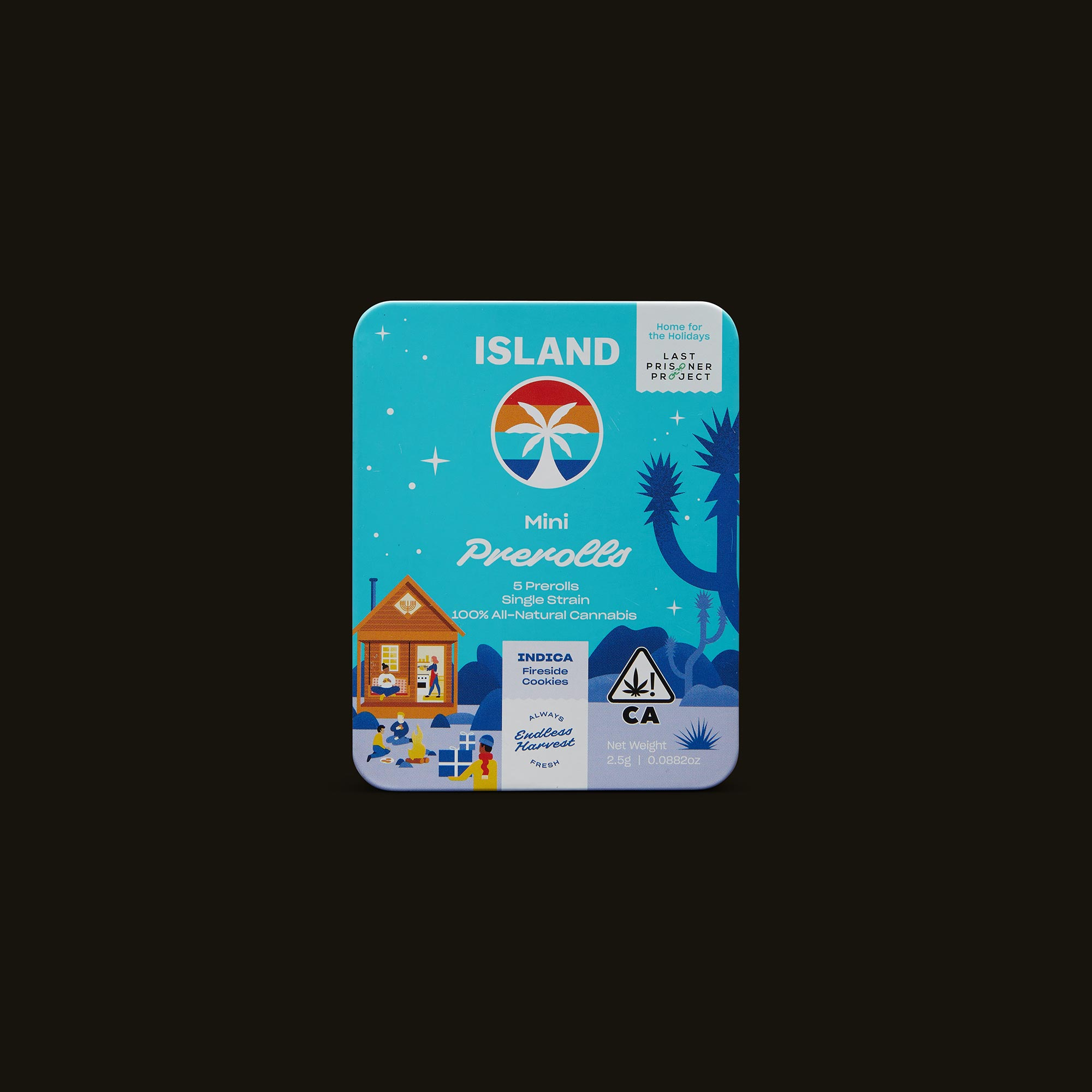 Island Fireside Cookies Minis Front Packaging