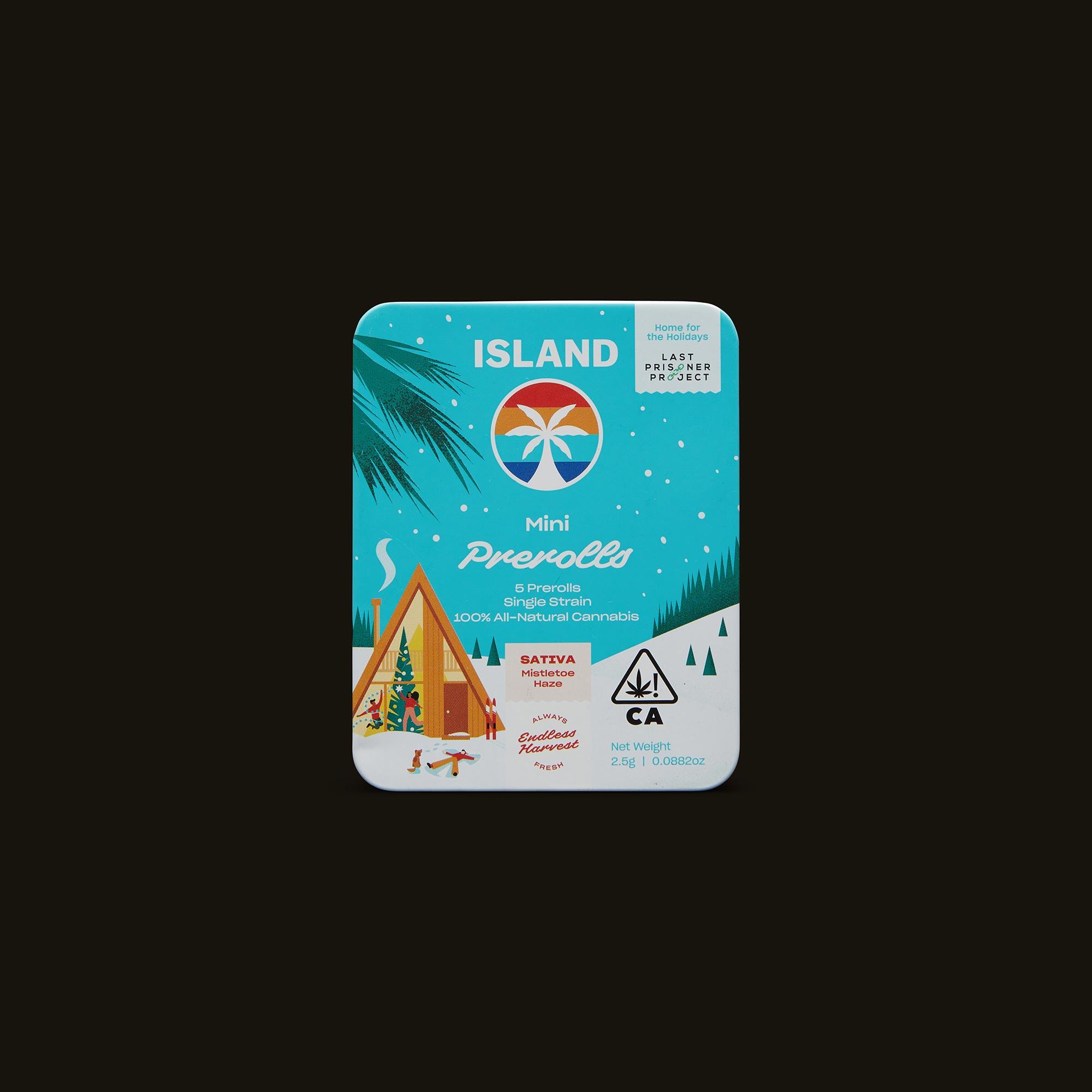 Island Mistletoe Haze Minis Front Packaging