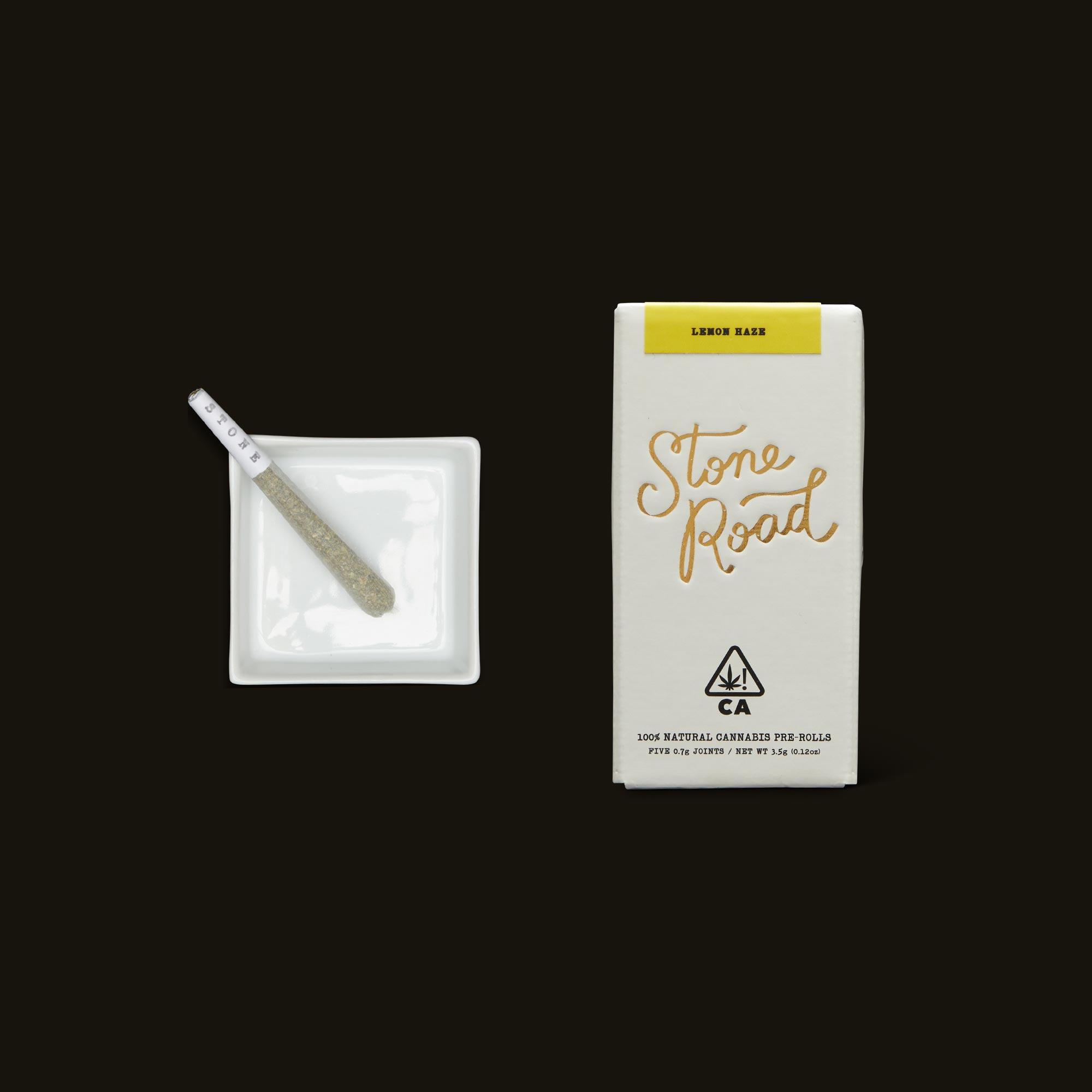 Stone Road Lemon Haze Infused Pre-Roll Pack