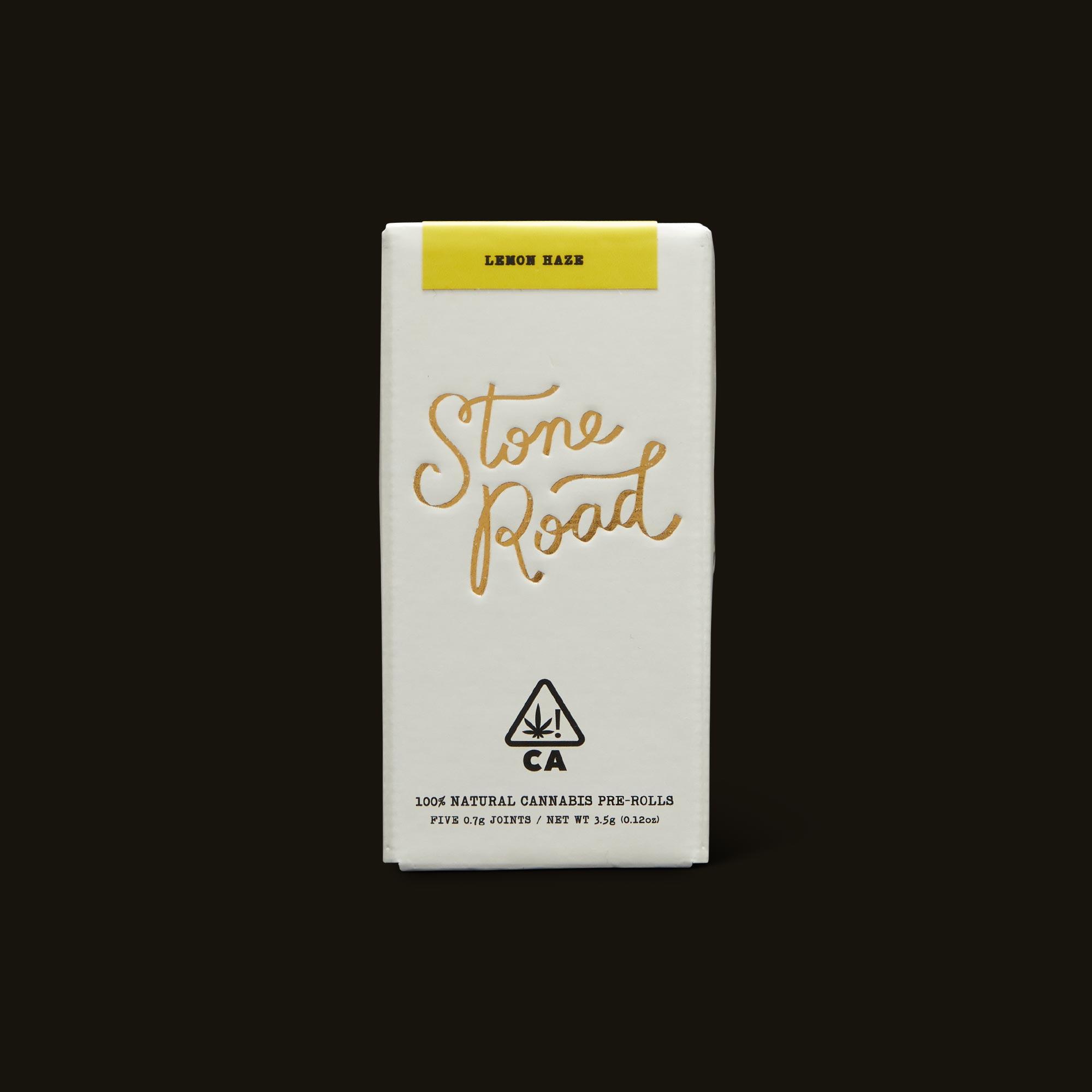 Lemon Haze Infused Pre-Roll Pack - Five 0.7g joints