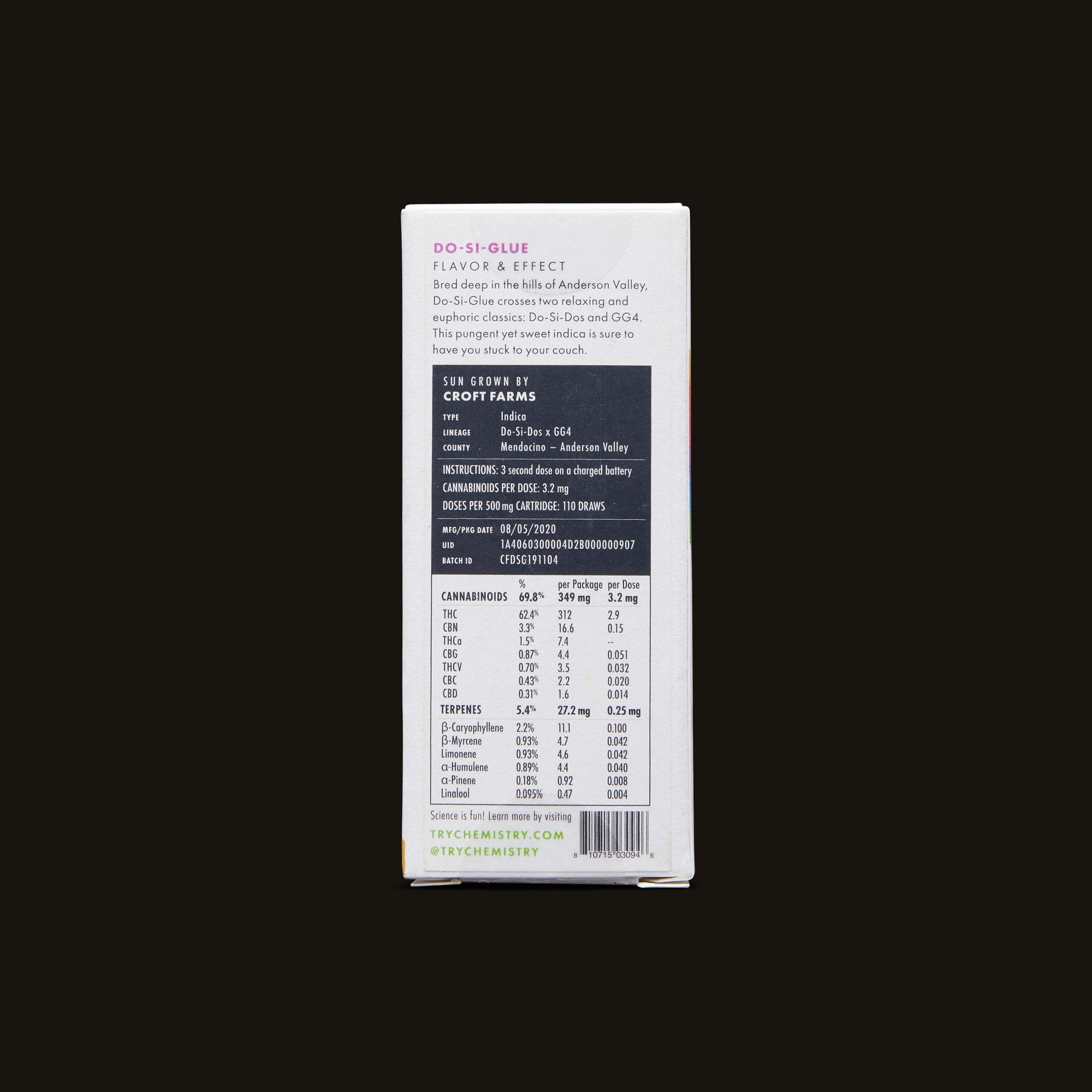 Chemistry Do-Si-Glue Cartridge Ingredients