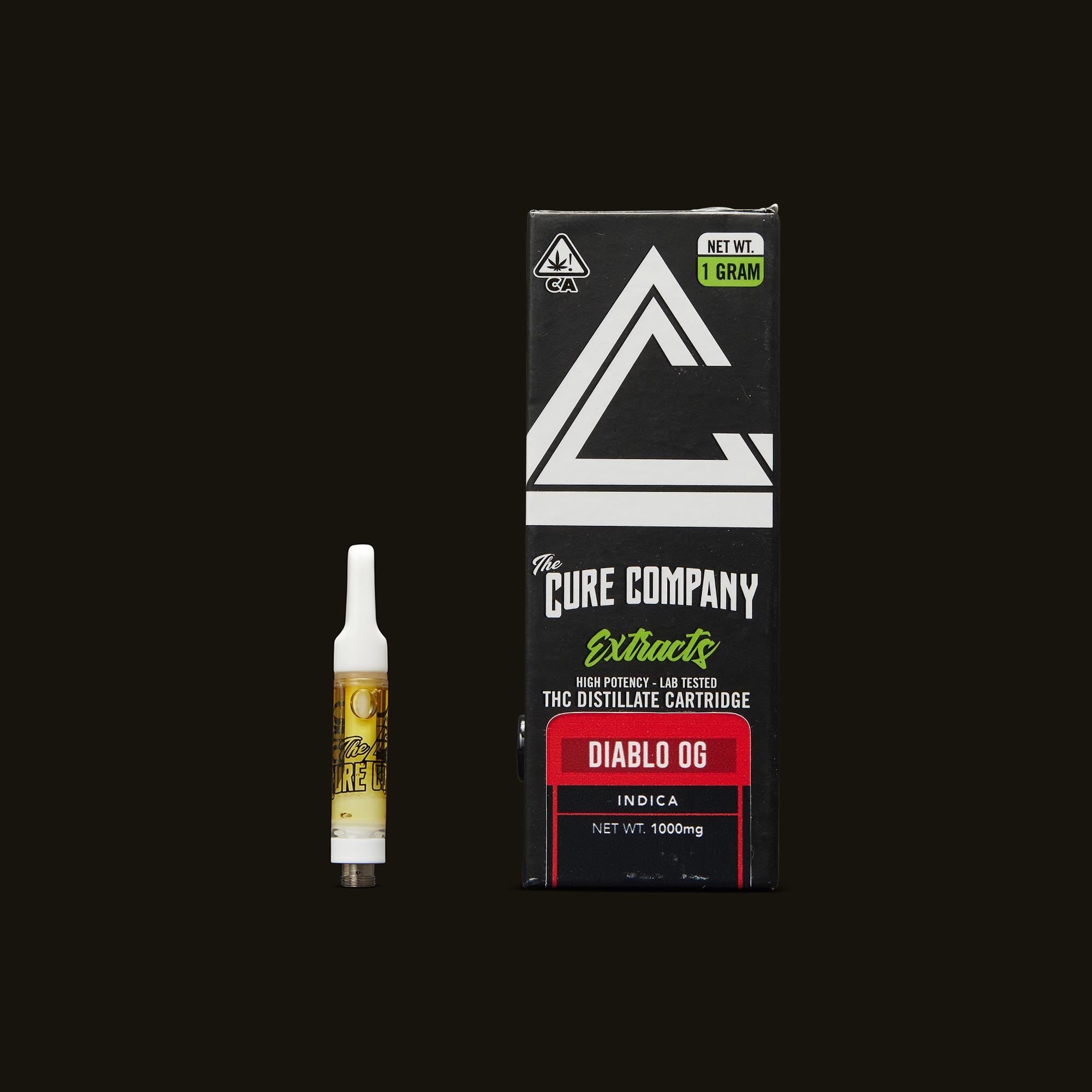 The Cure Company Diablo OG Cartridge