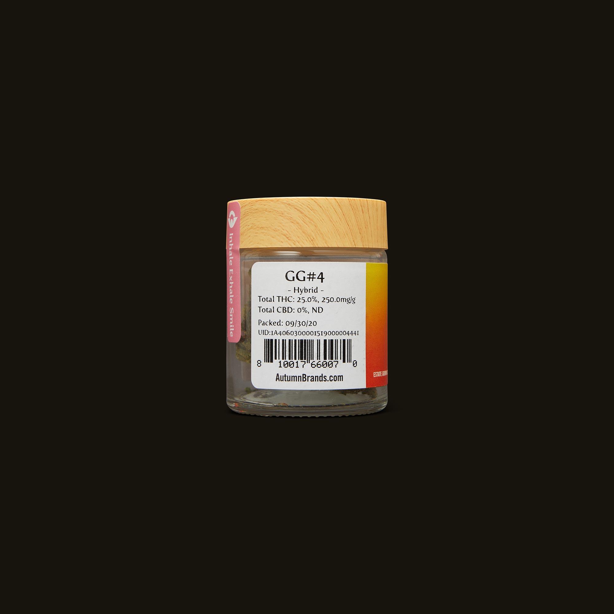 Autumn Brands GG #4 Back Packaging