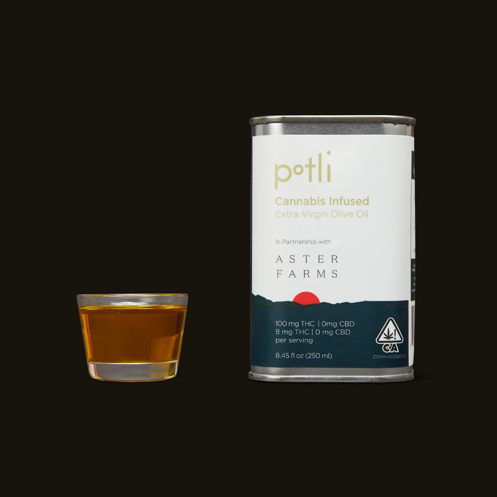 Aster Farms Potli Infused Olive Oil