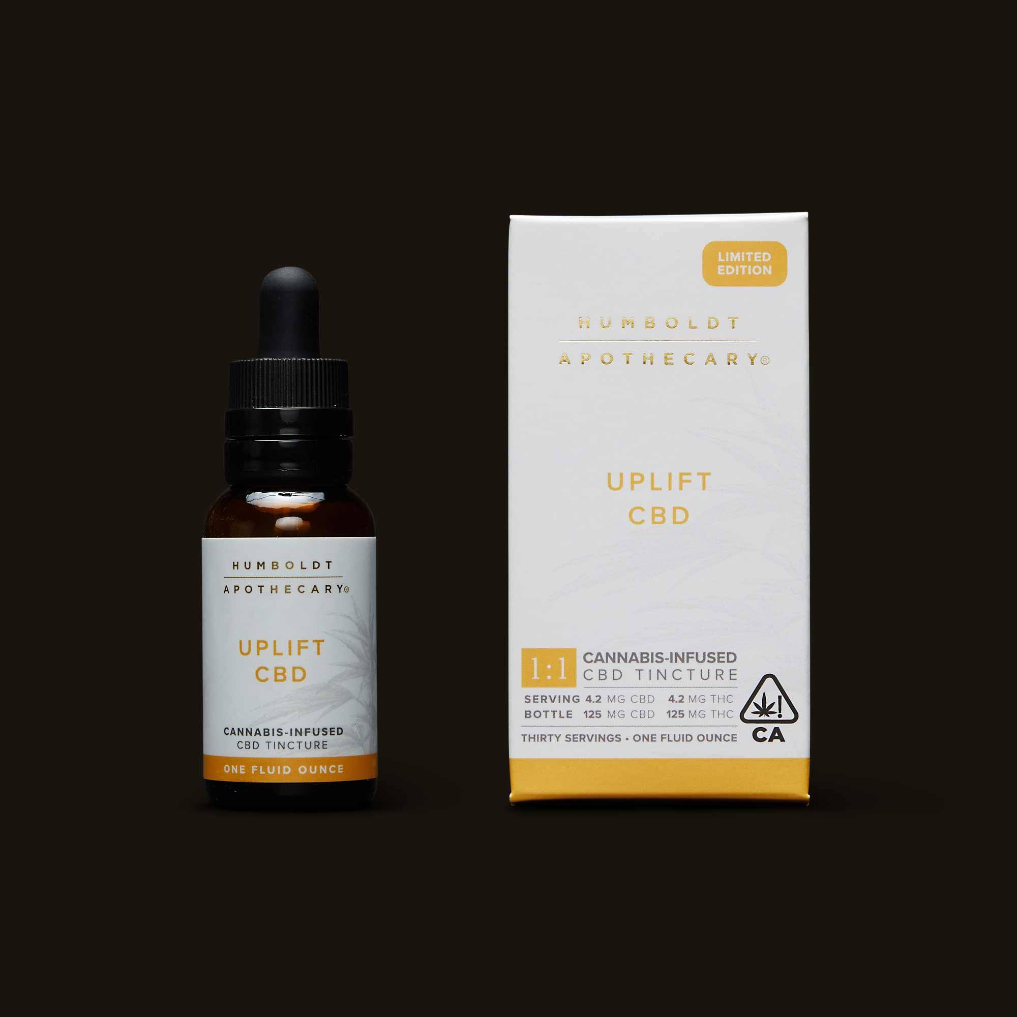 Uplift CBD - One 30ml bottle (250mg THC, 250mg CBD)