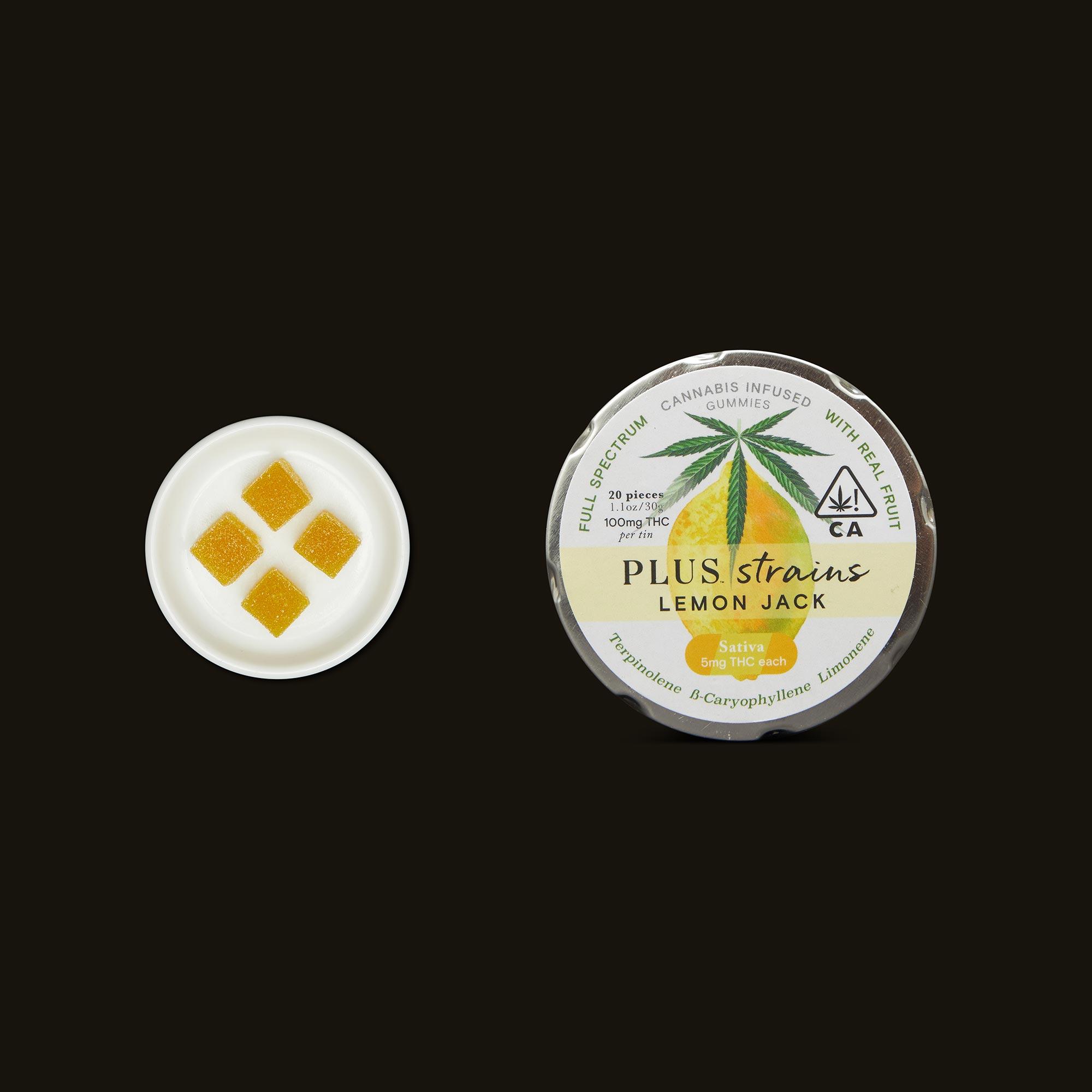 Plus Lemon Jack Strains Gummies