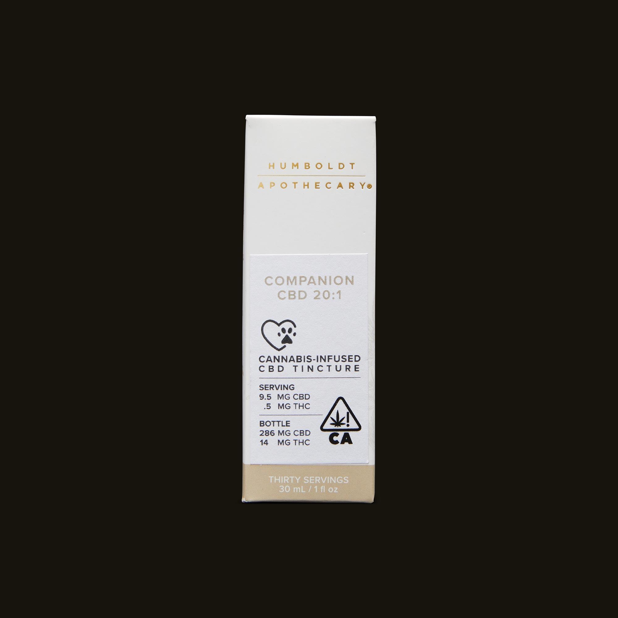 Humboldt Apothecary Pet CBD 20:1 Front Packaging