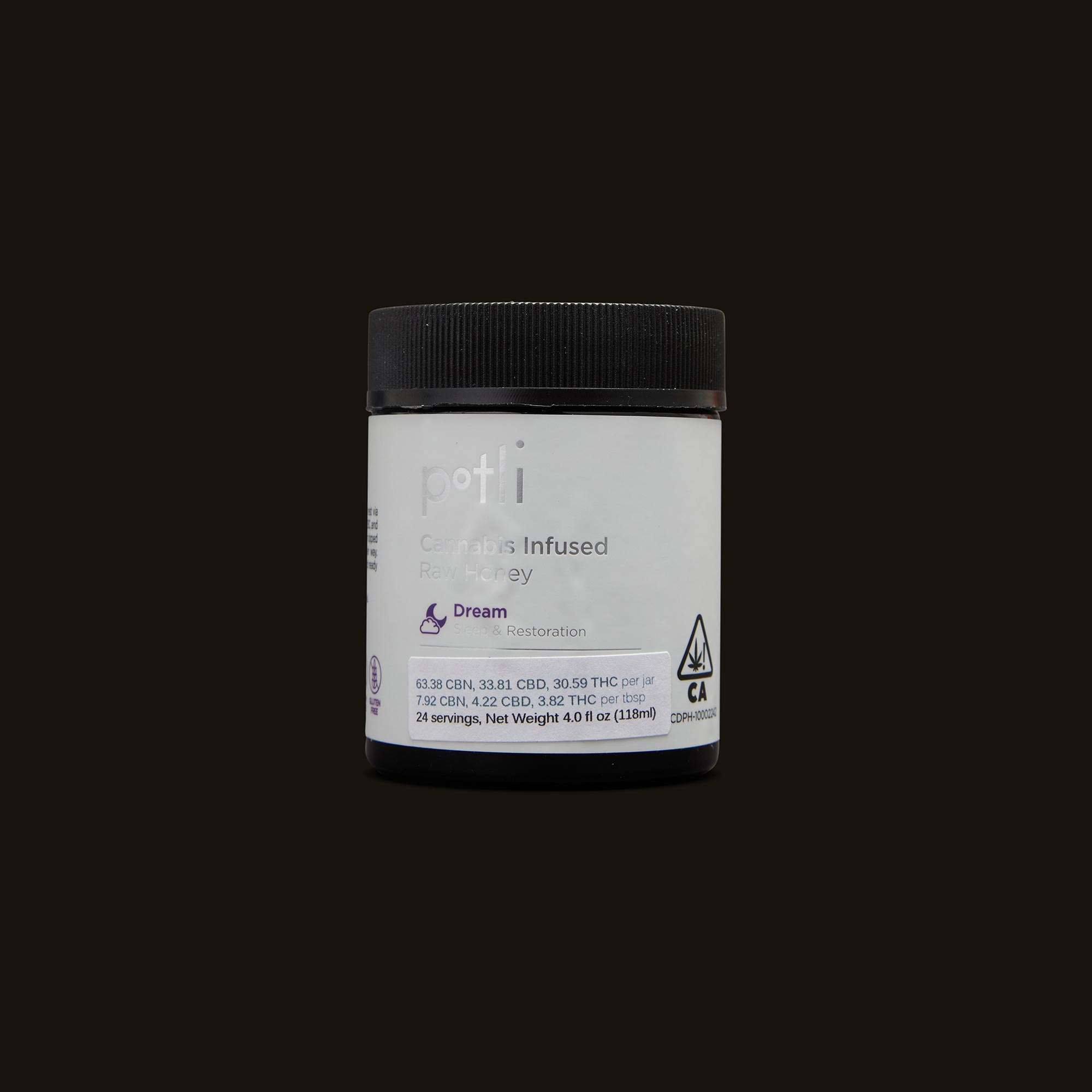 Potli Infused Dream Honey Front Packaging