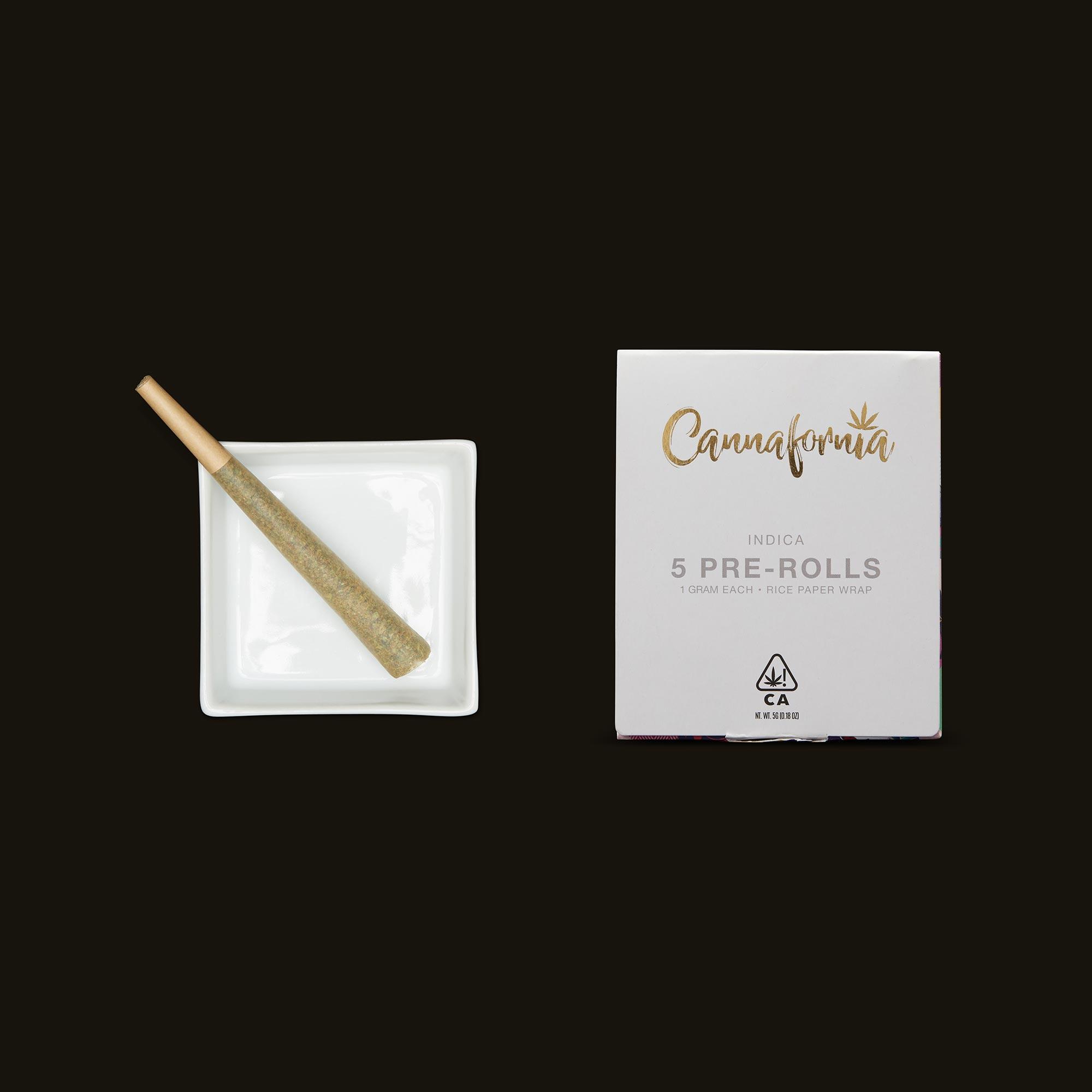 Slurricane Pre-Roll box and in an ashtray